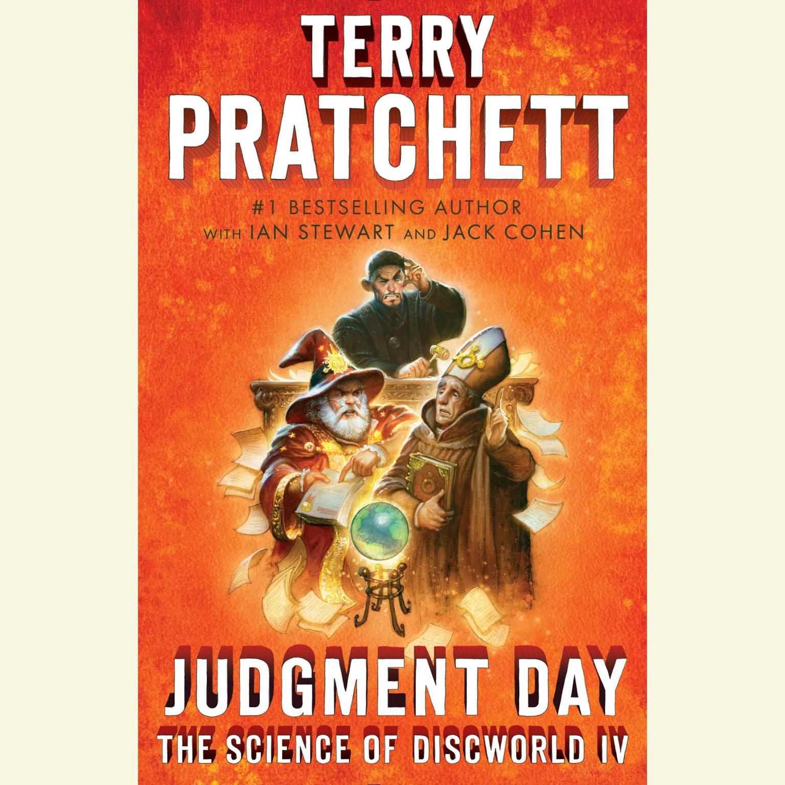 Printable Judgment Day: Science of Discworld IV: A Novel Audiobook Cover Art