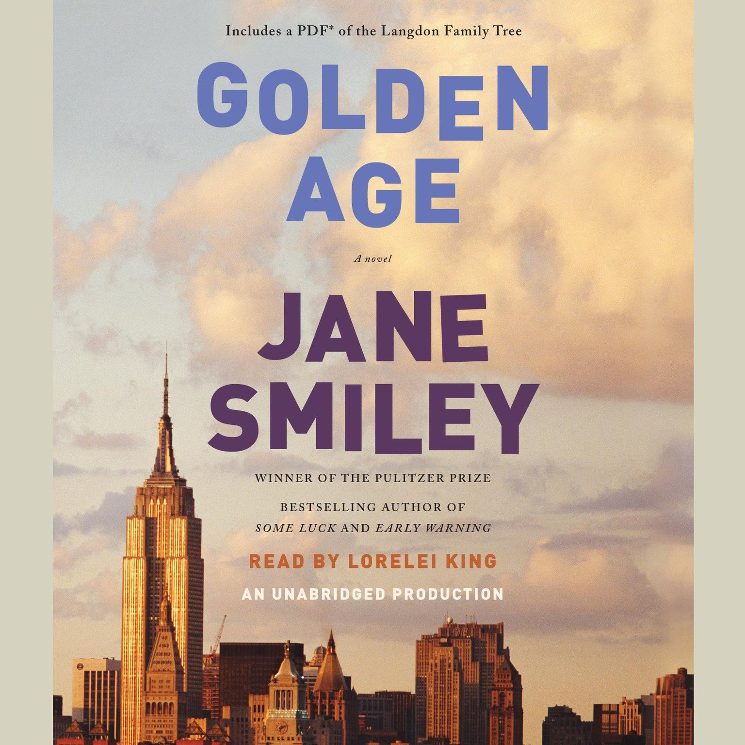 Printable Golden Age: A novel Audiobook Cover Art