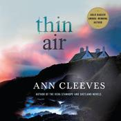 Thin Air, by Ann Cleeves