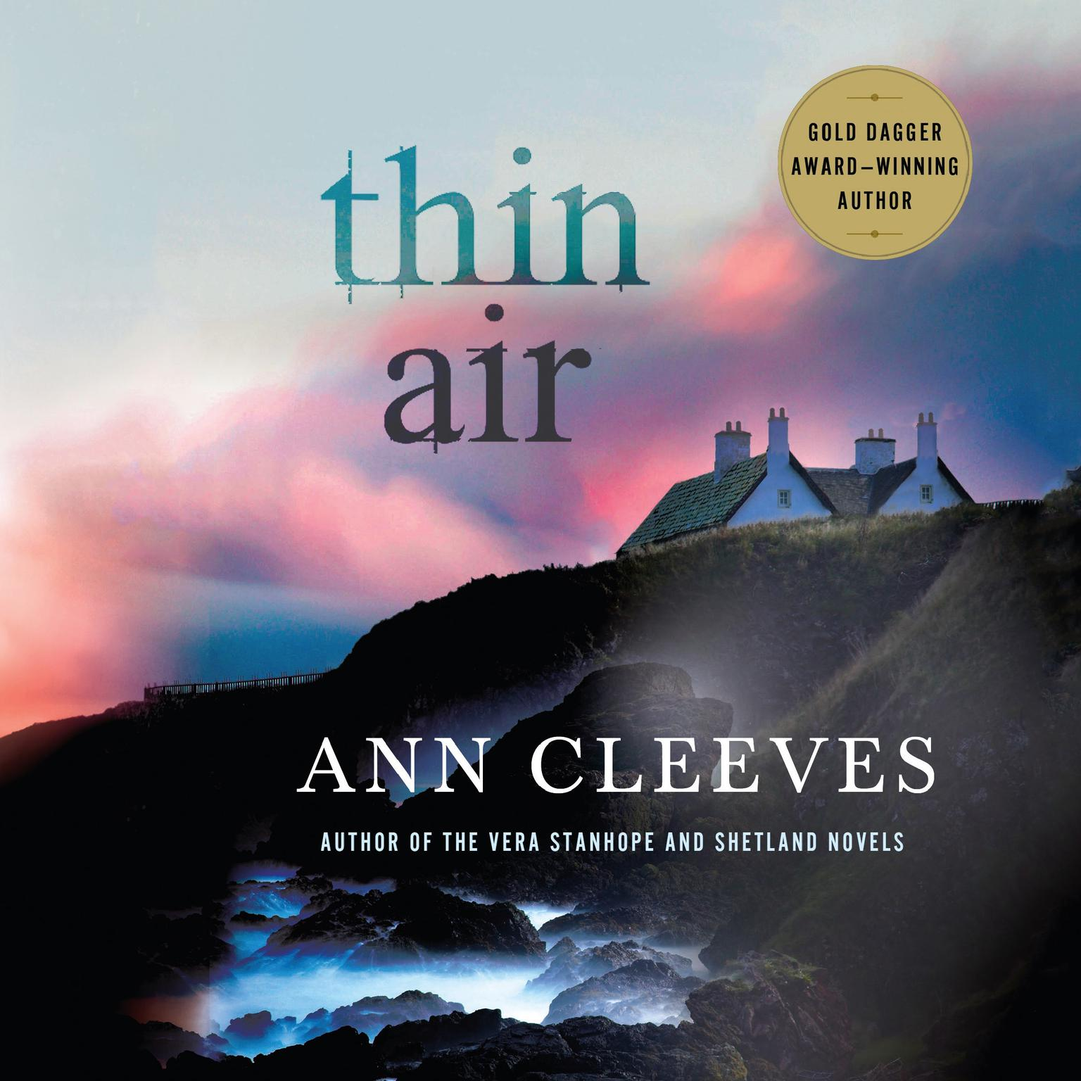 Printable Thin Air: A Shetland Mystery Audiobook Cover Art