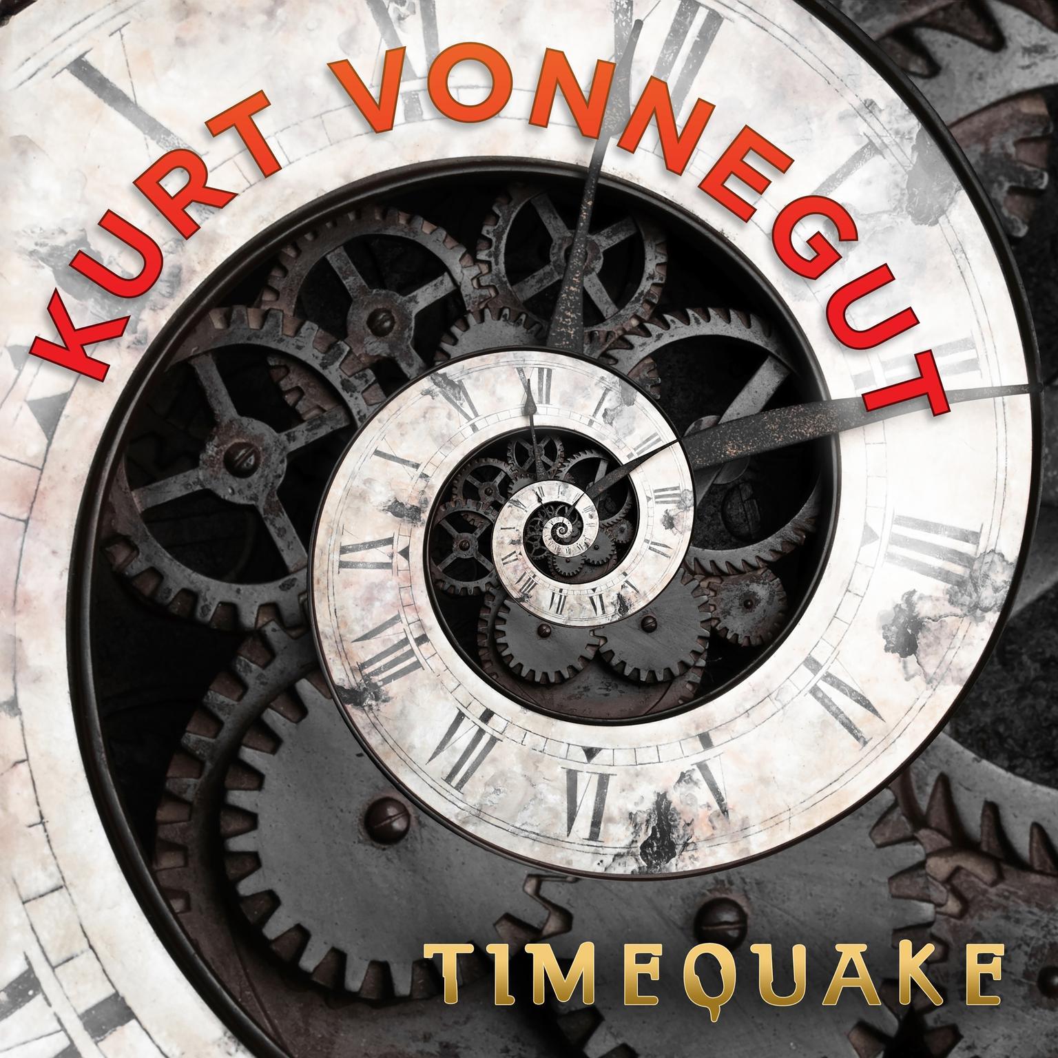 Printable Timequake Audiobook Cover Art
