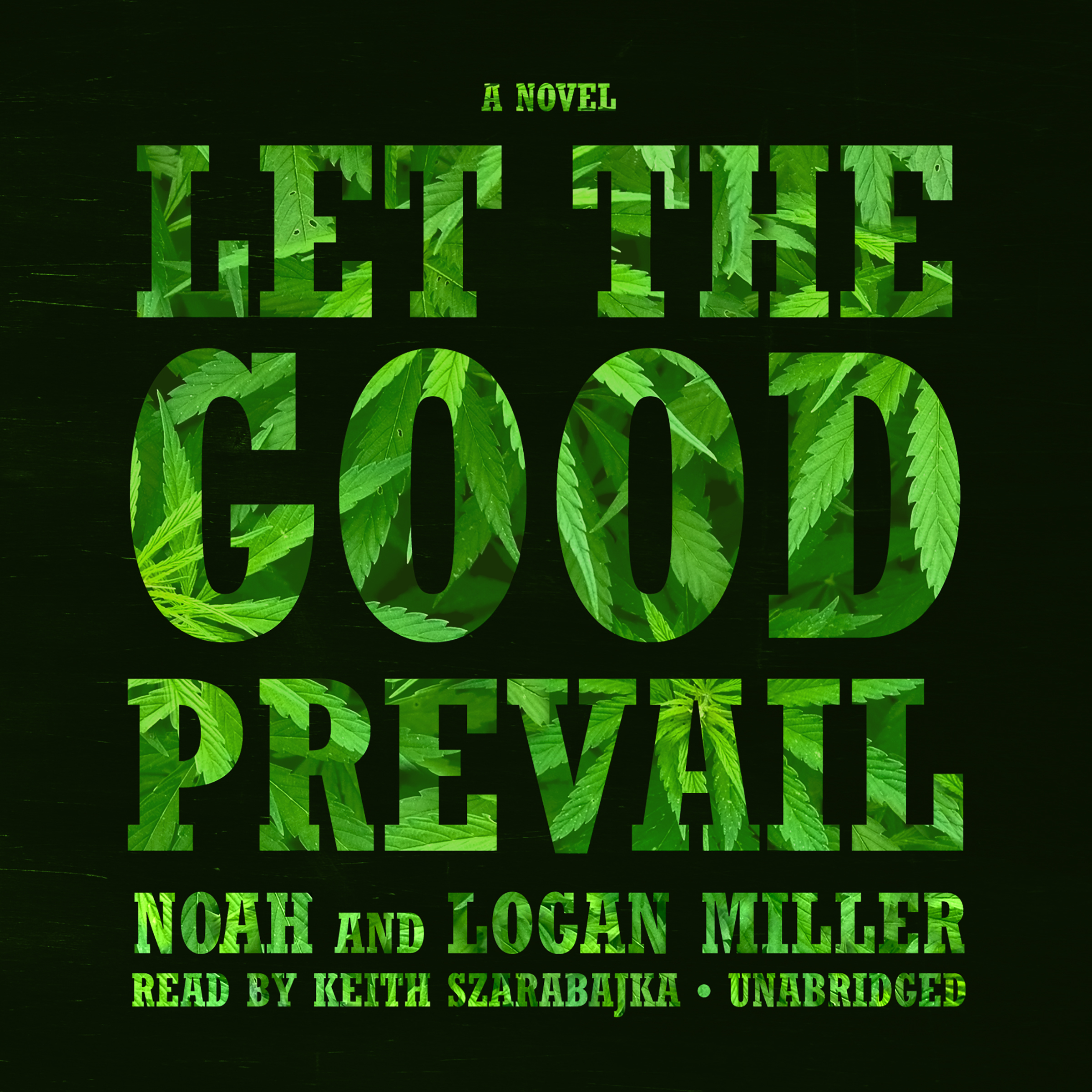 Printable Let the Good Prevail: A Novel Audiobook Cover Art