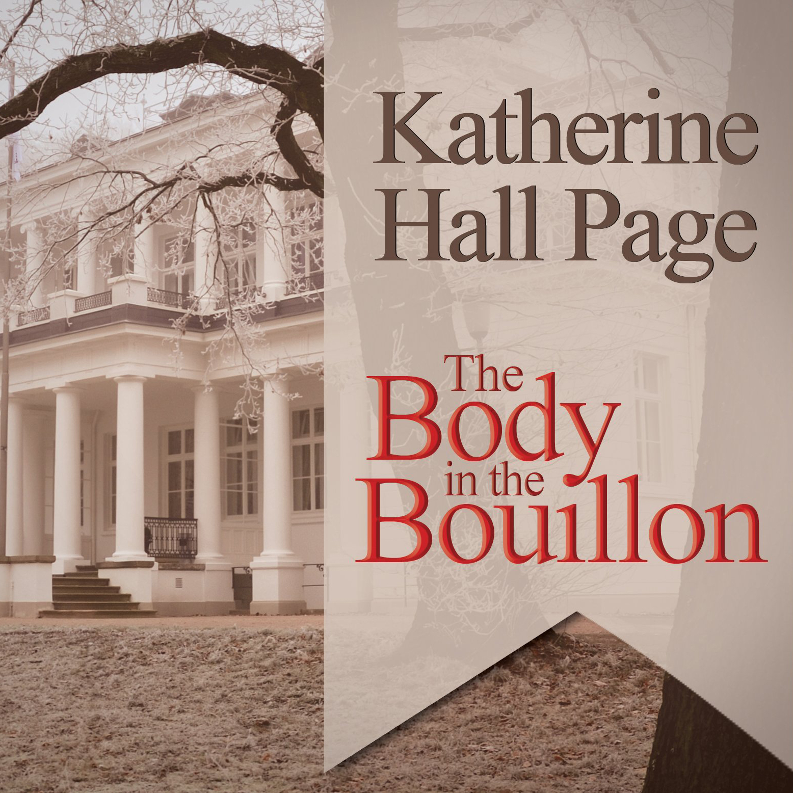 Printable The Body in the Bouillon: A Faith Fairchild Mystery Audiobook Cover Art