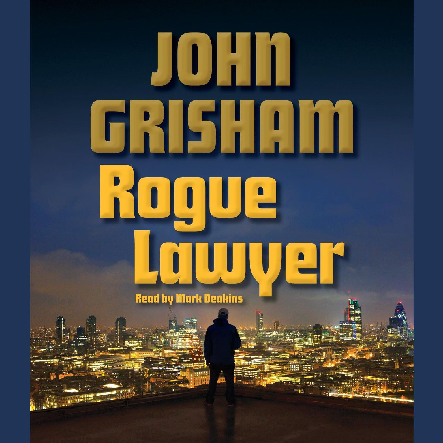 Printable Rogue Lawyer Audiobook Cover Art