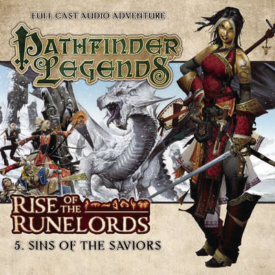 Rise of the Runelords: Sins of the Saviors Audiobook, by Mark Wright