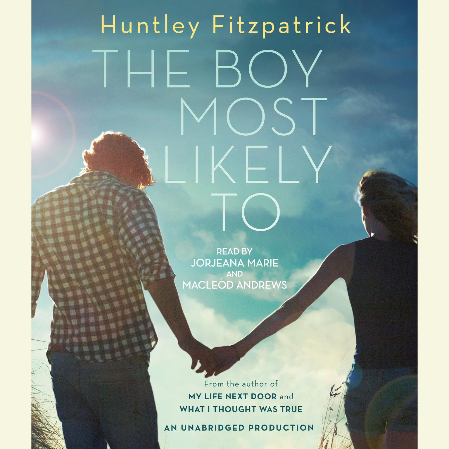Printable The Boy Most Likely to Audiobook Cover Art
