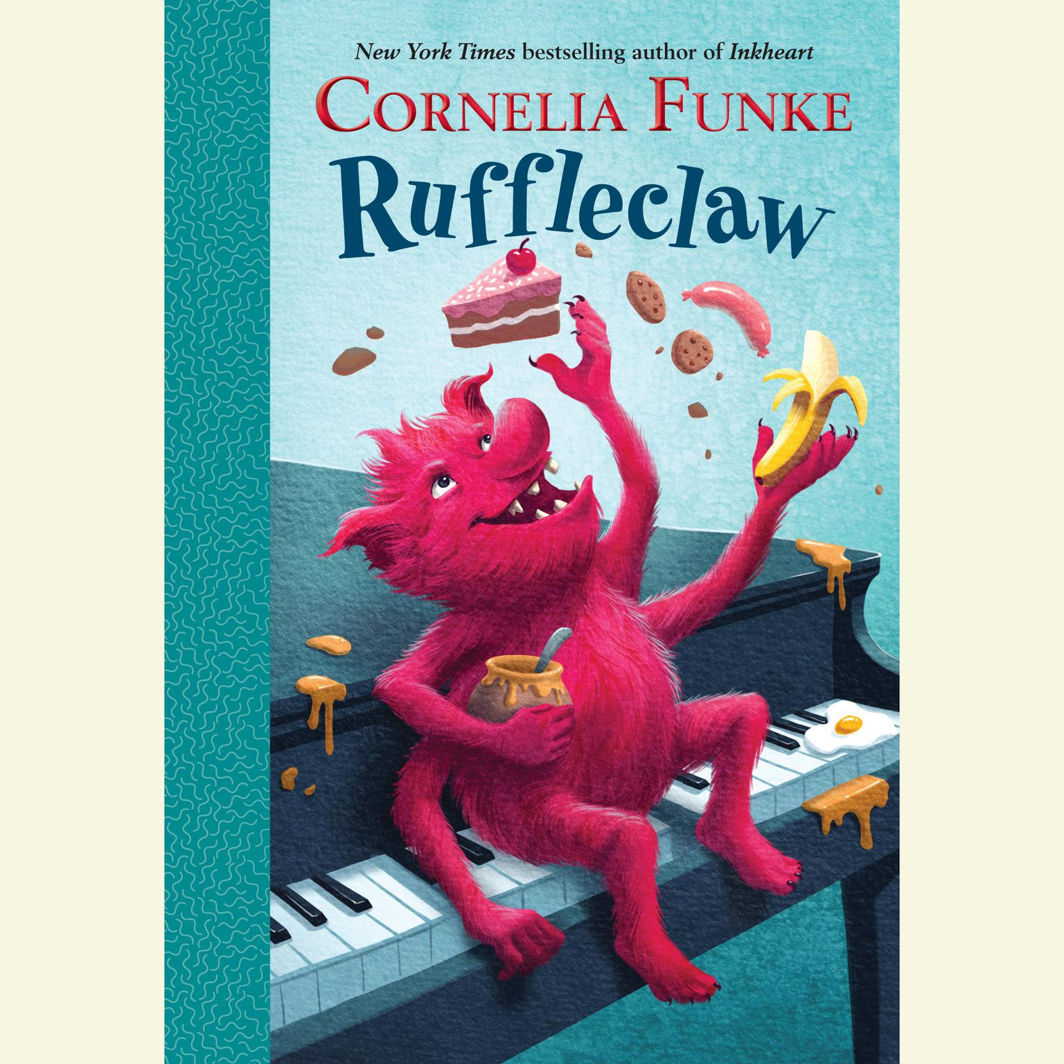 Printable Ruffleclaw Audiobook Cover Art