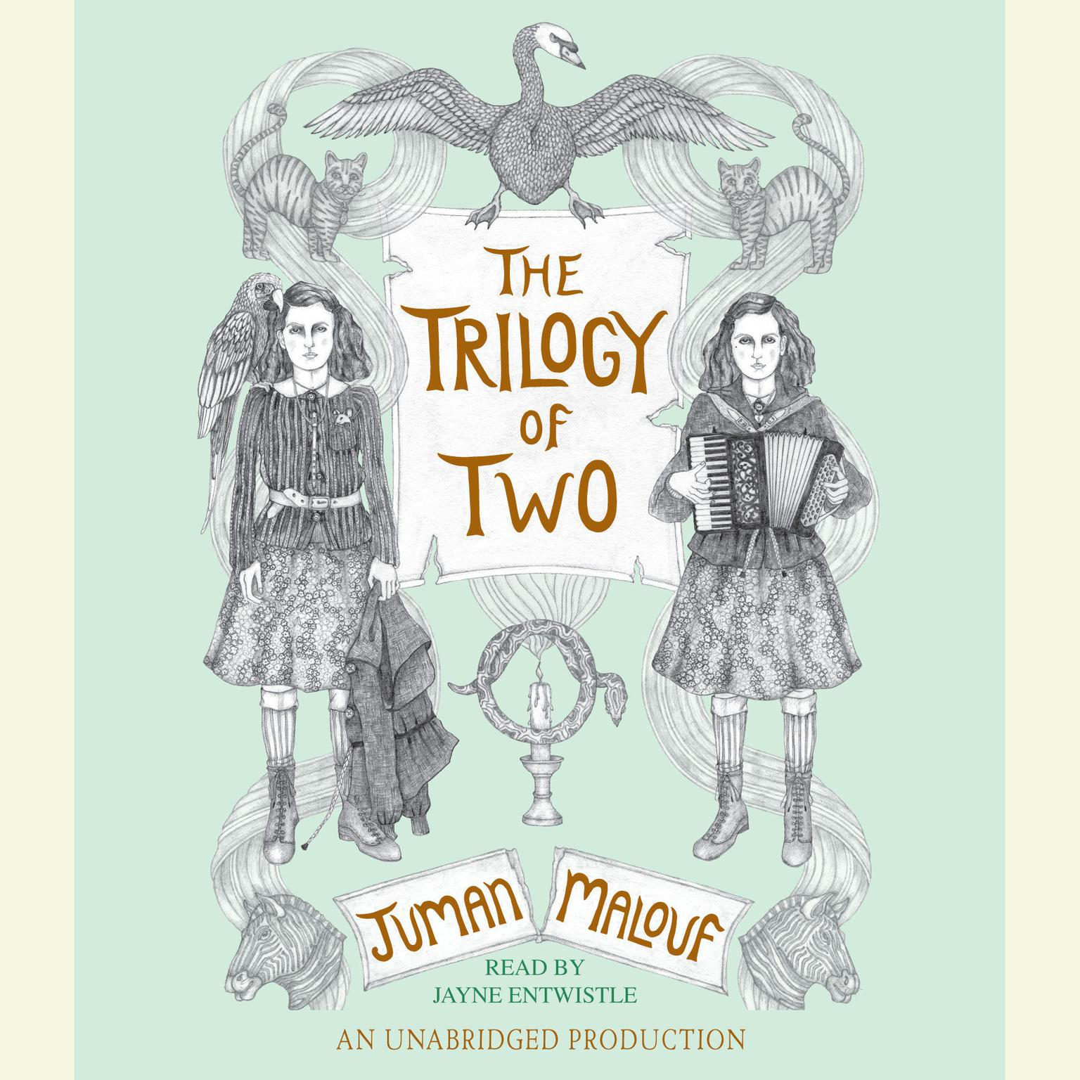 Printable The Trilogy of Two Audiobook Cover Art