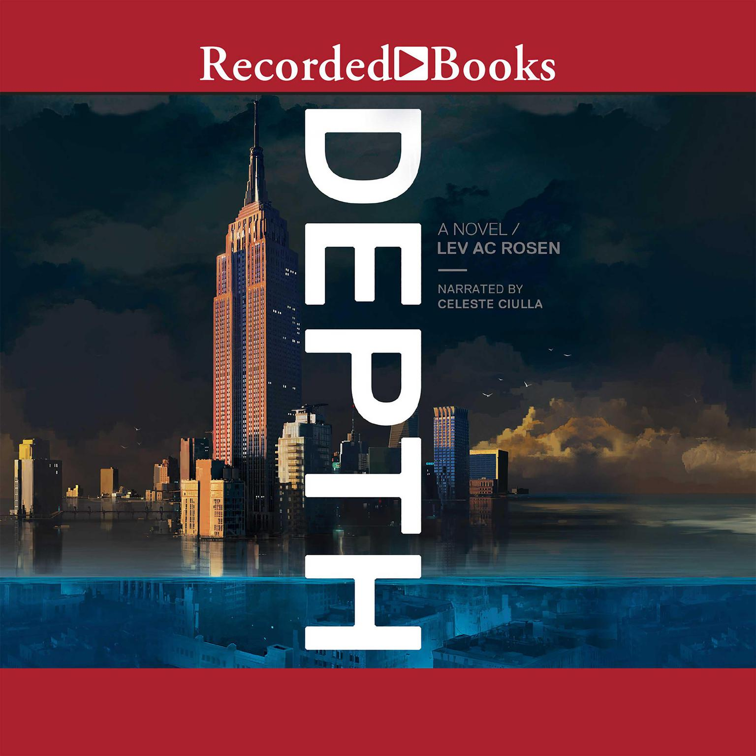 Printable Depth: A Novel Audiobook Cover Art