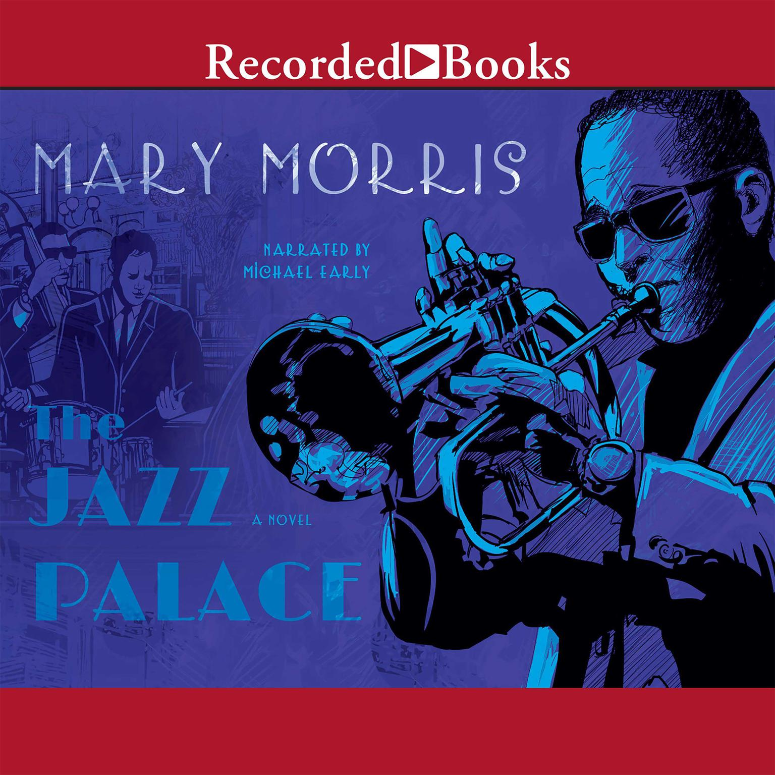 Printable The Jazz Palace Audiobook Cover Art