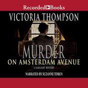 Murder on Amsterdam Avenue, by Victoria Thompson