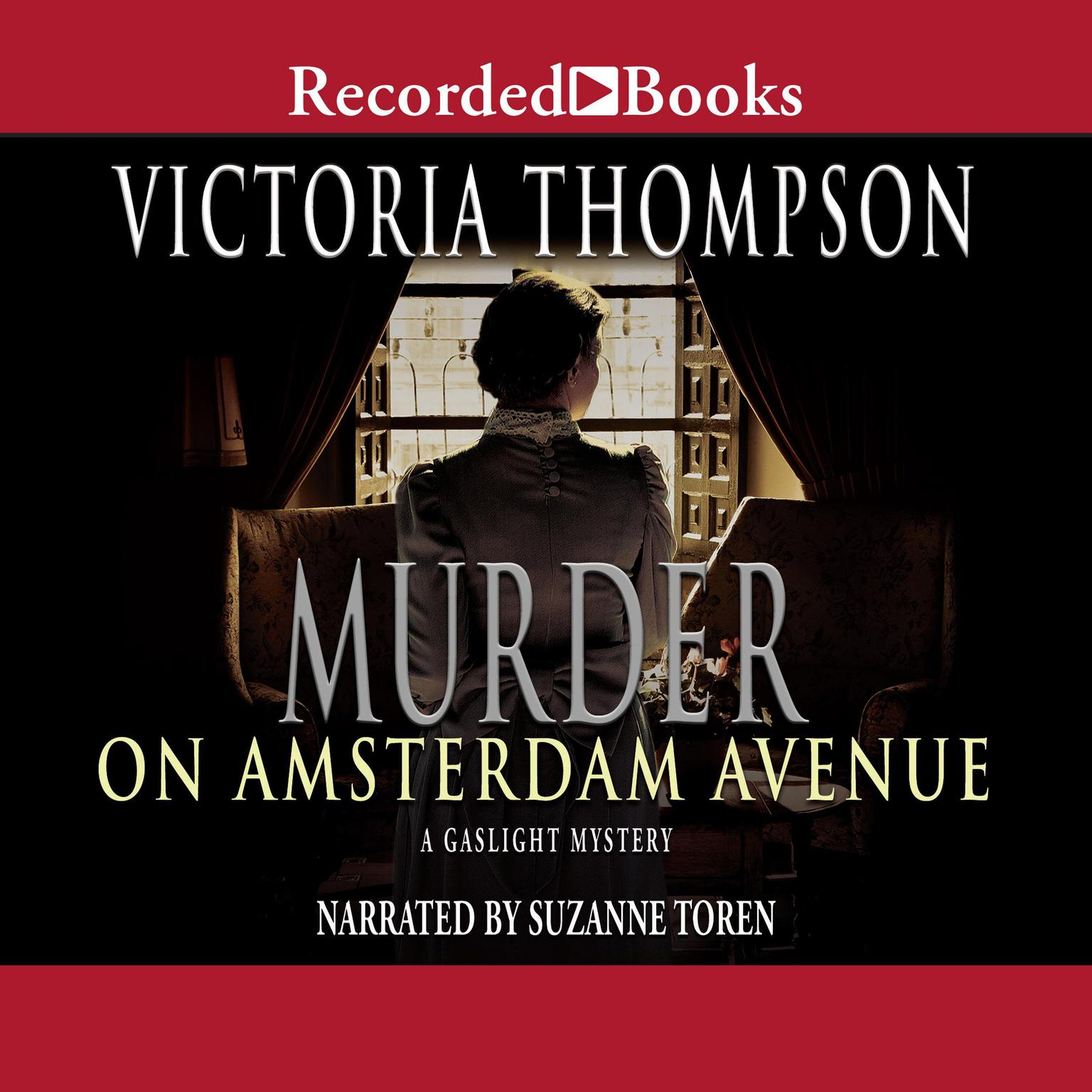Printable Murder on Amsterdam Avenue Audiobook Cover Art