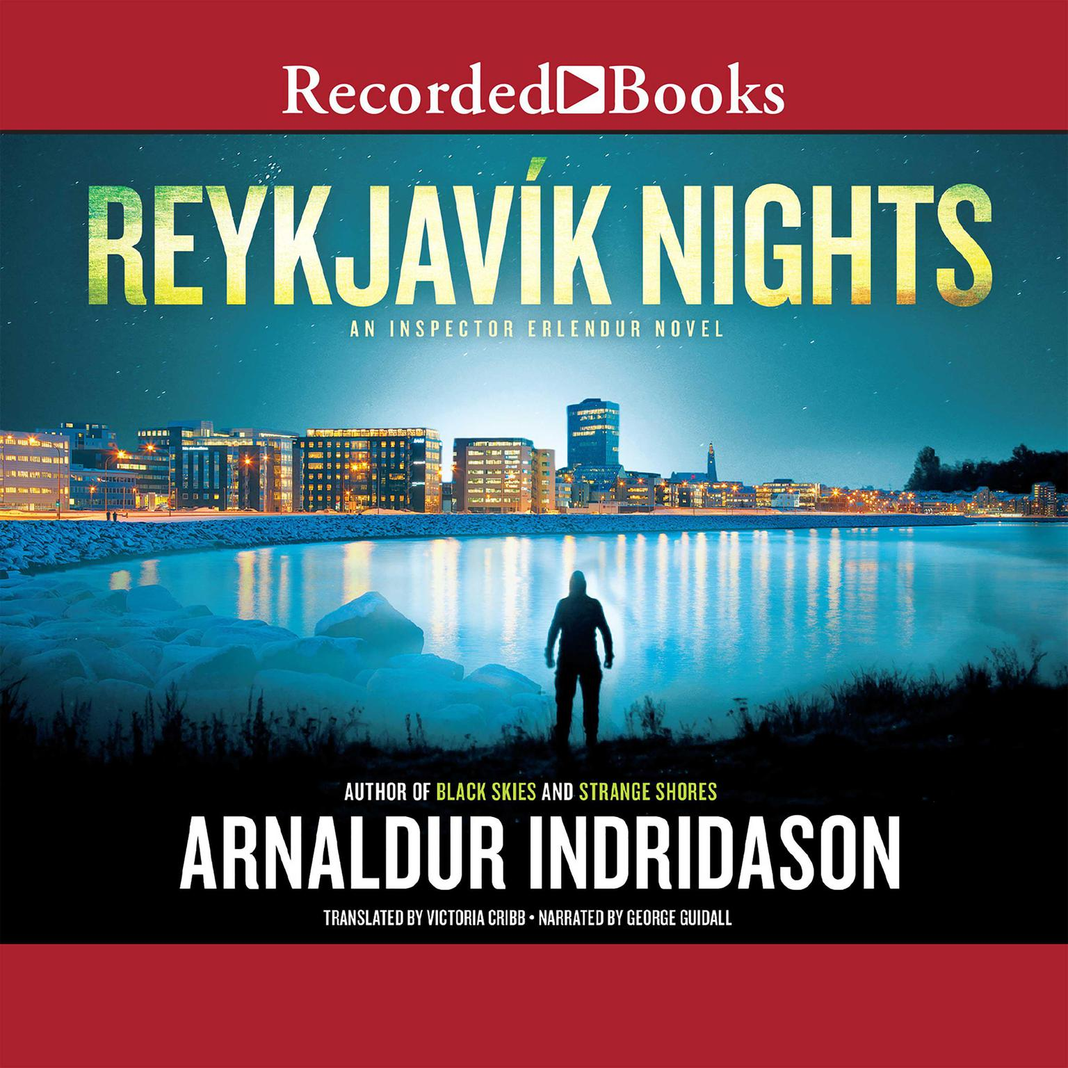 Printable Reykjavík Nights Audiobook Cover Art