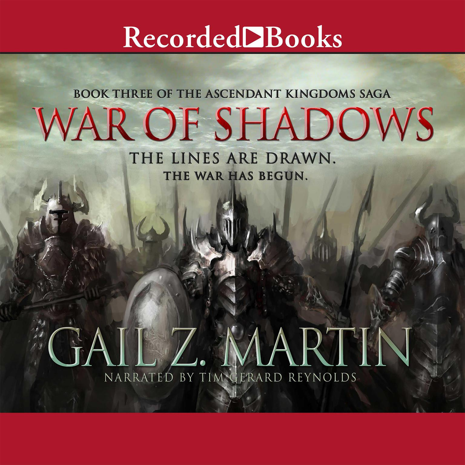 Printable War of Shadows Audiobook Cover Art