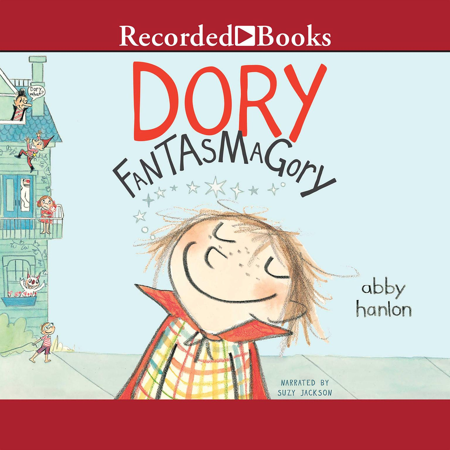 Printable Dory Fantasmagory Audiobook Cover Art