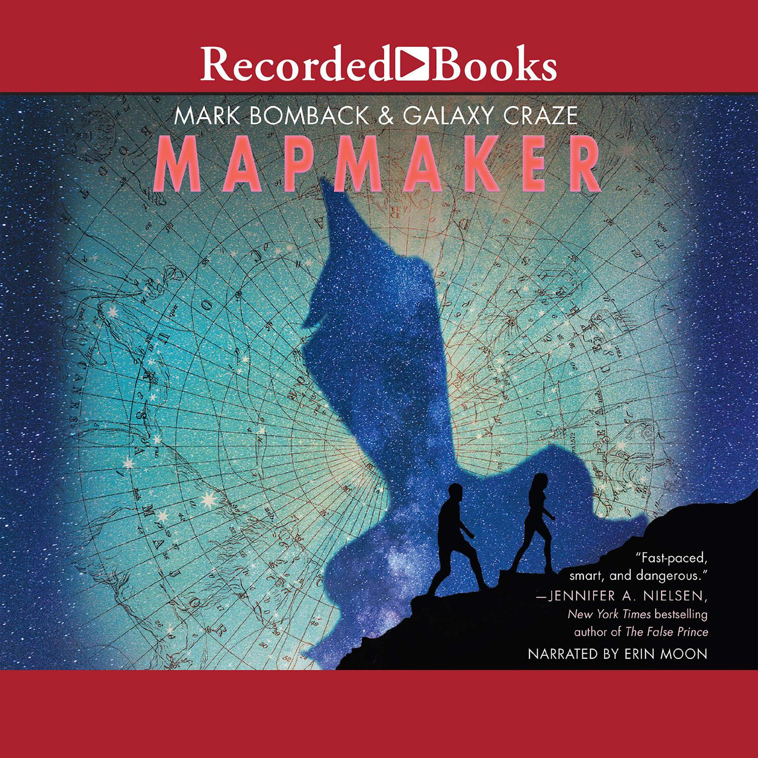 Printable Mapmaker Audiobook Cover Art
