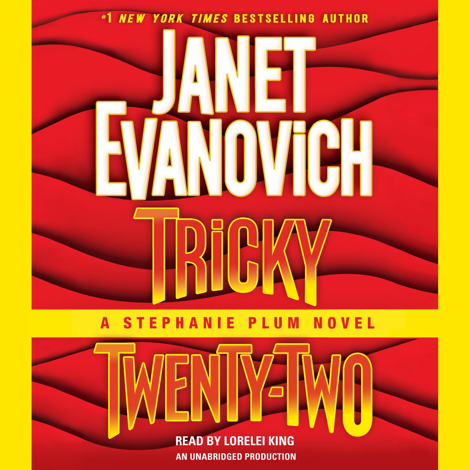 Printable Tricky Twenty-Two: A Stephanie Plum Novel Audiobook Cover Art