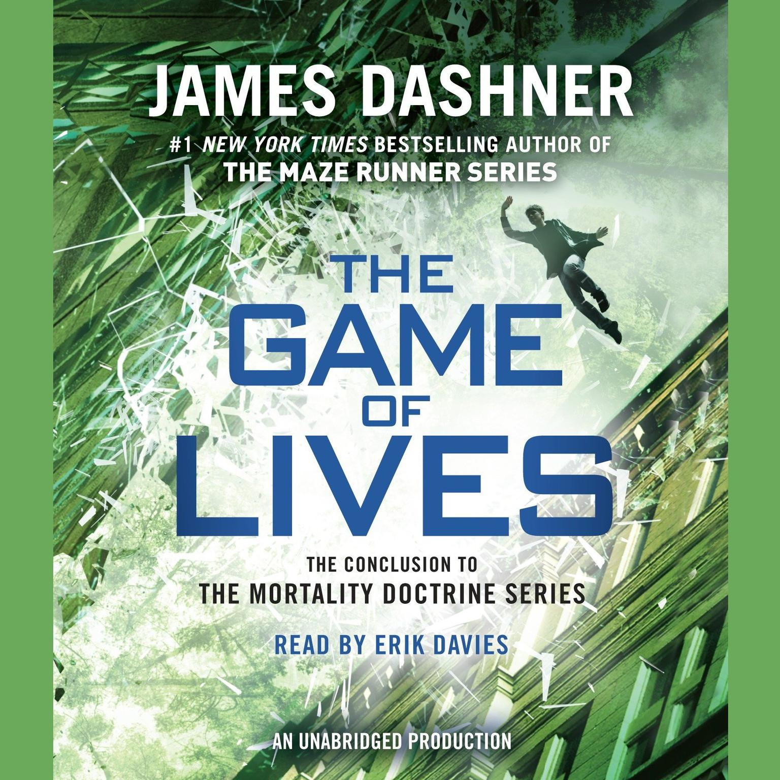 Printable The Game of Lives (The Mortality Doctrine, Book Three) Audiobook Cover Art