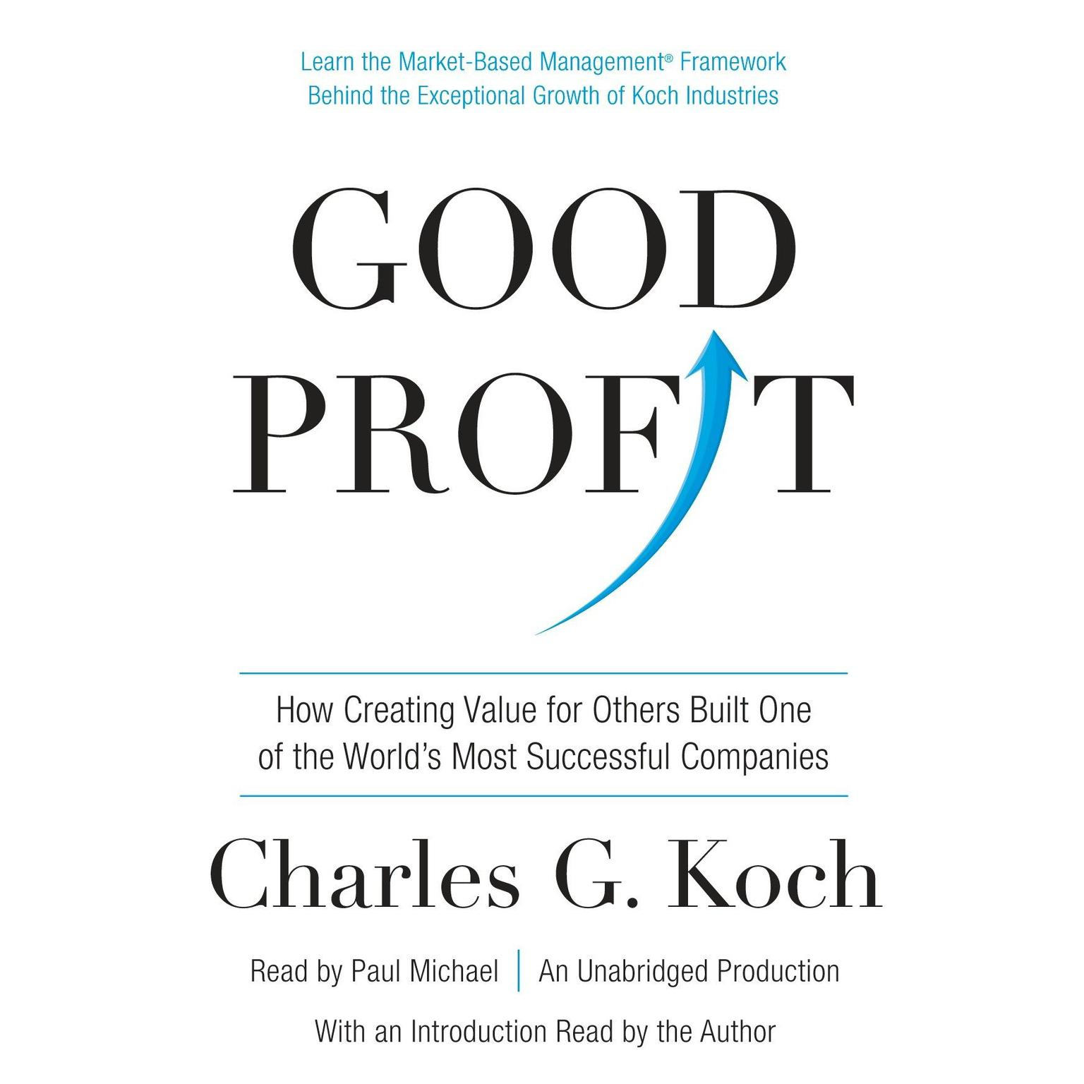 Printable Good Profit: How Creating Value for Others Built One of the World's Most Successful Companies Audiobook Cover Art