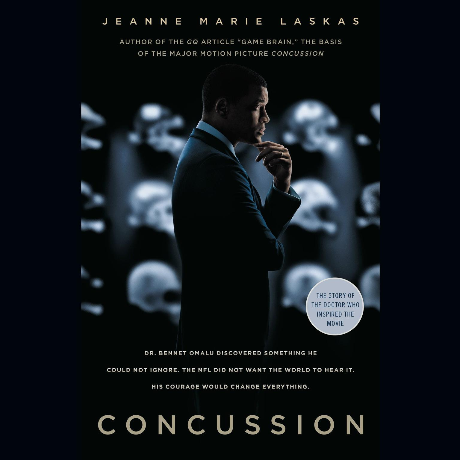 Printable Concussion (Movie Tie-in Edition) Audiobook Cover Art
