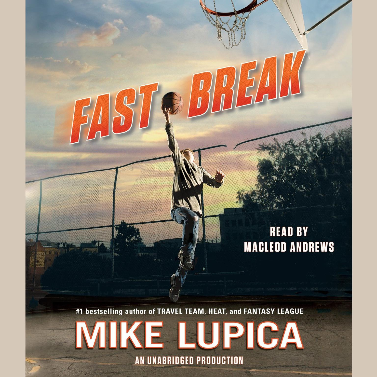 Printable Fast Break Audiobook Cover Art