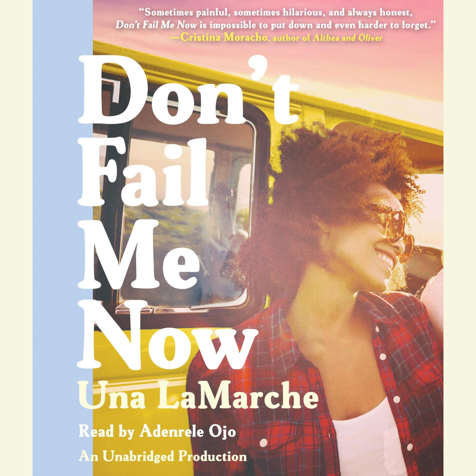 Printable Don't Fail Me Now Audiobook Cover Art