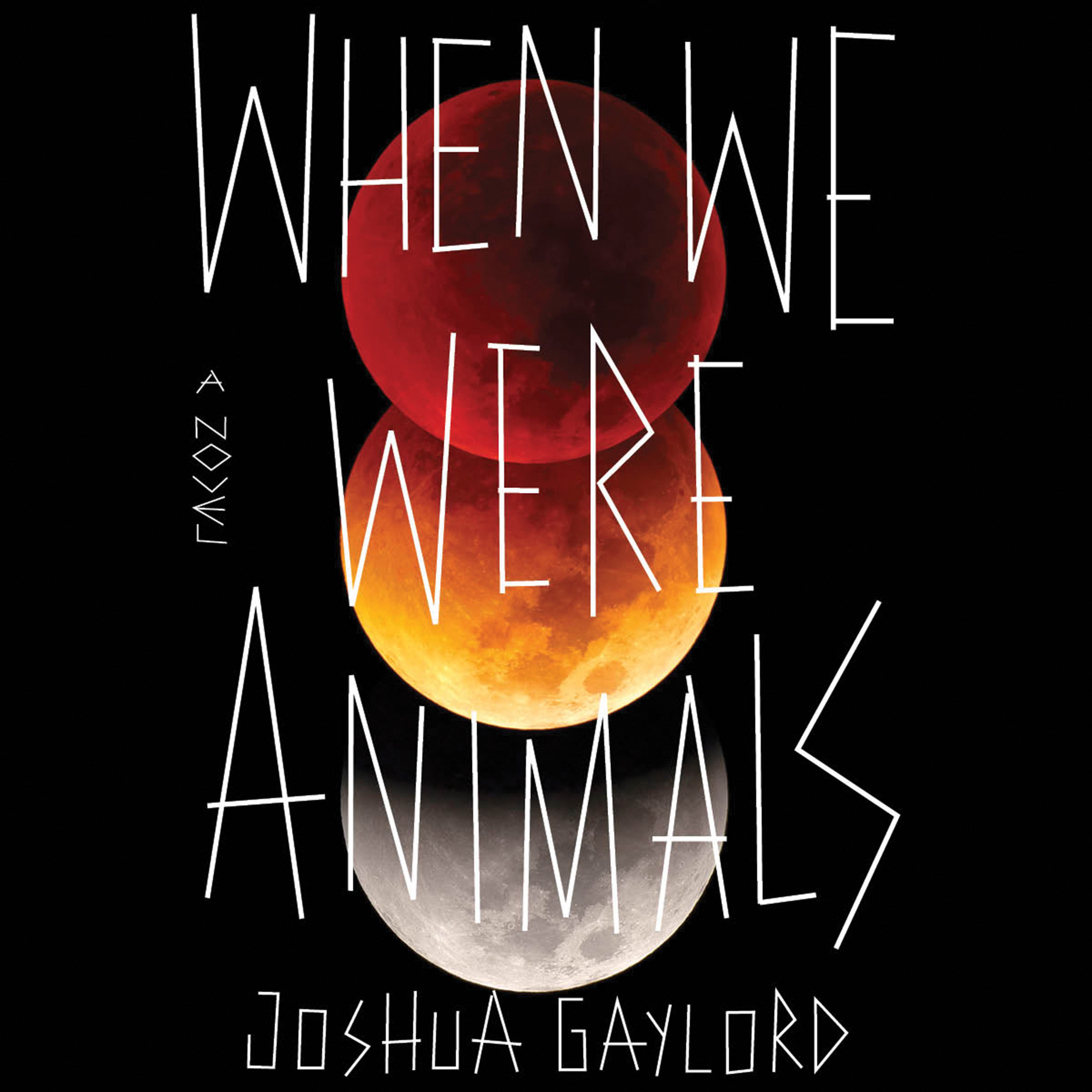 Printable When We Were Animals Audiobook Cover Art