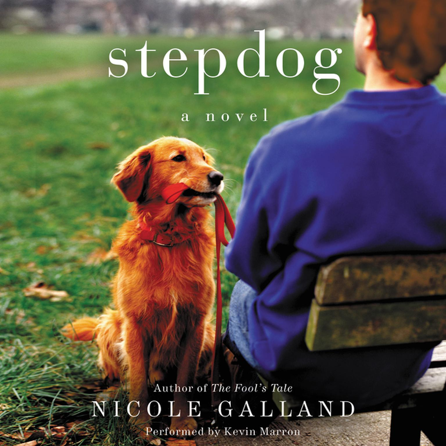 Printable Stepdog: A Novel Audiobook Cover Art