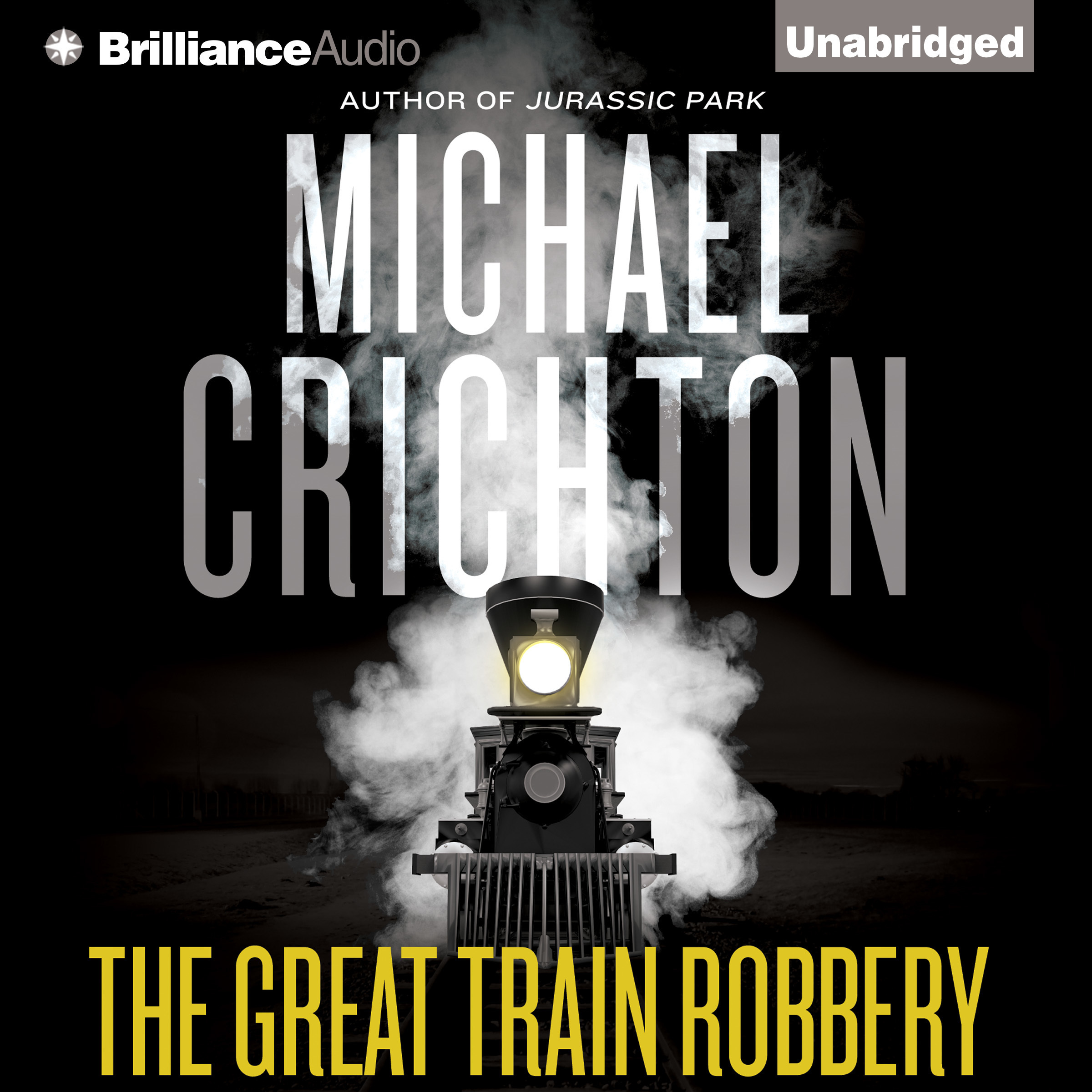 Printable The Great Train Robbery Audiobook Cover Art