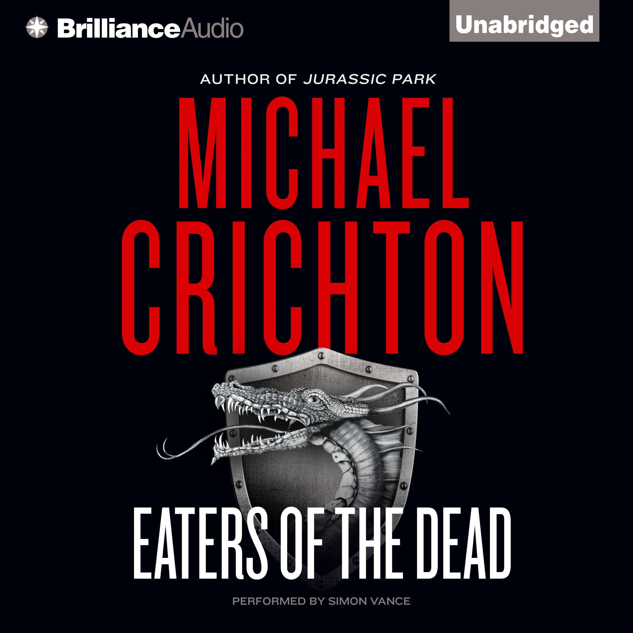 Printable Eaters of the Dead Audiobook Cover Art