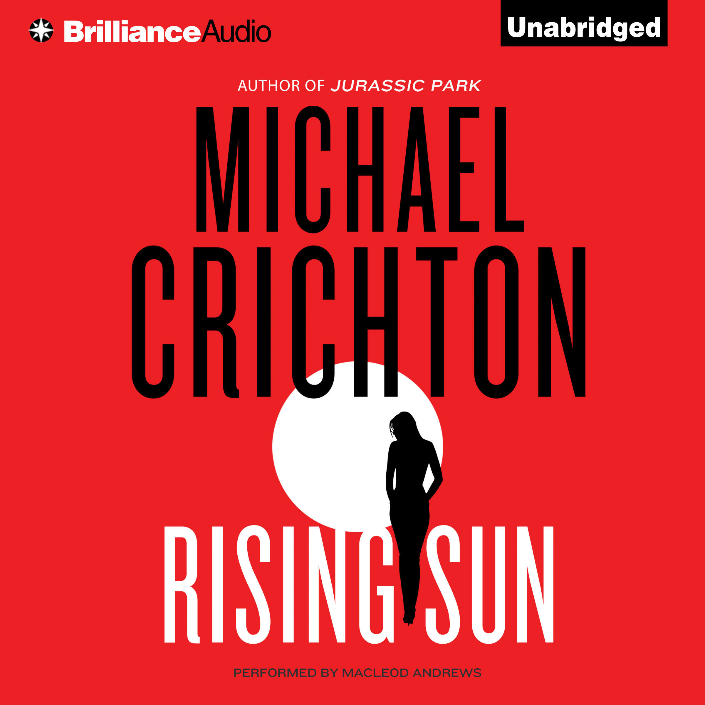 Printable Rising Sun: A Novel Audiobook Cover Art