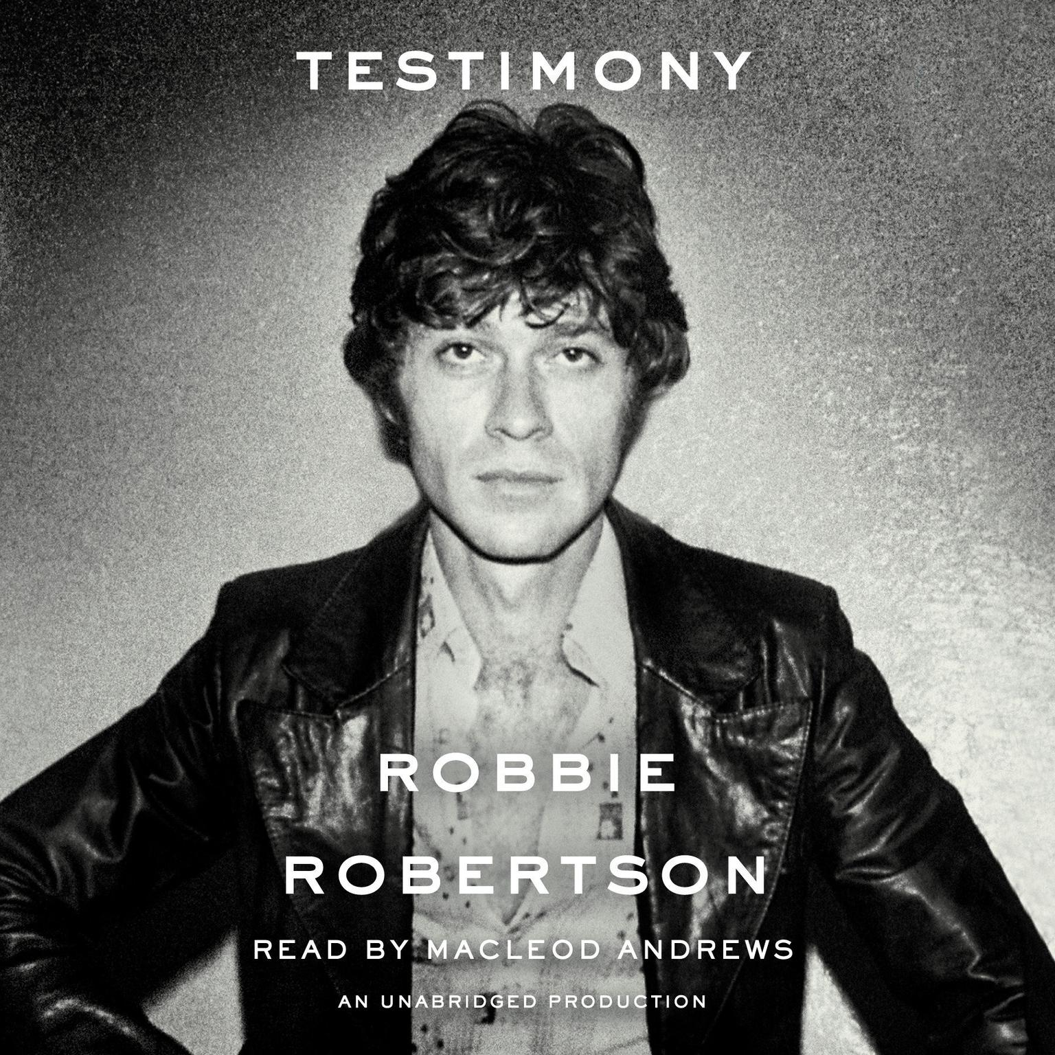 Printable Testimony Audiobook Cover Art