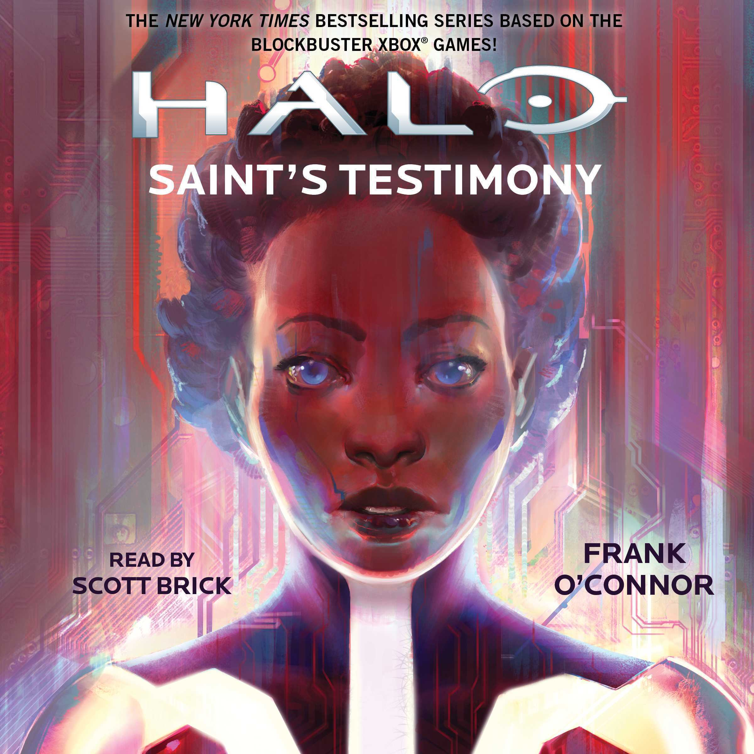 Printable HALO: Saint's Testimony Audiobook Cover Art