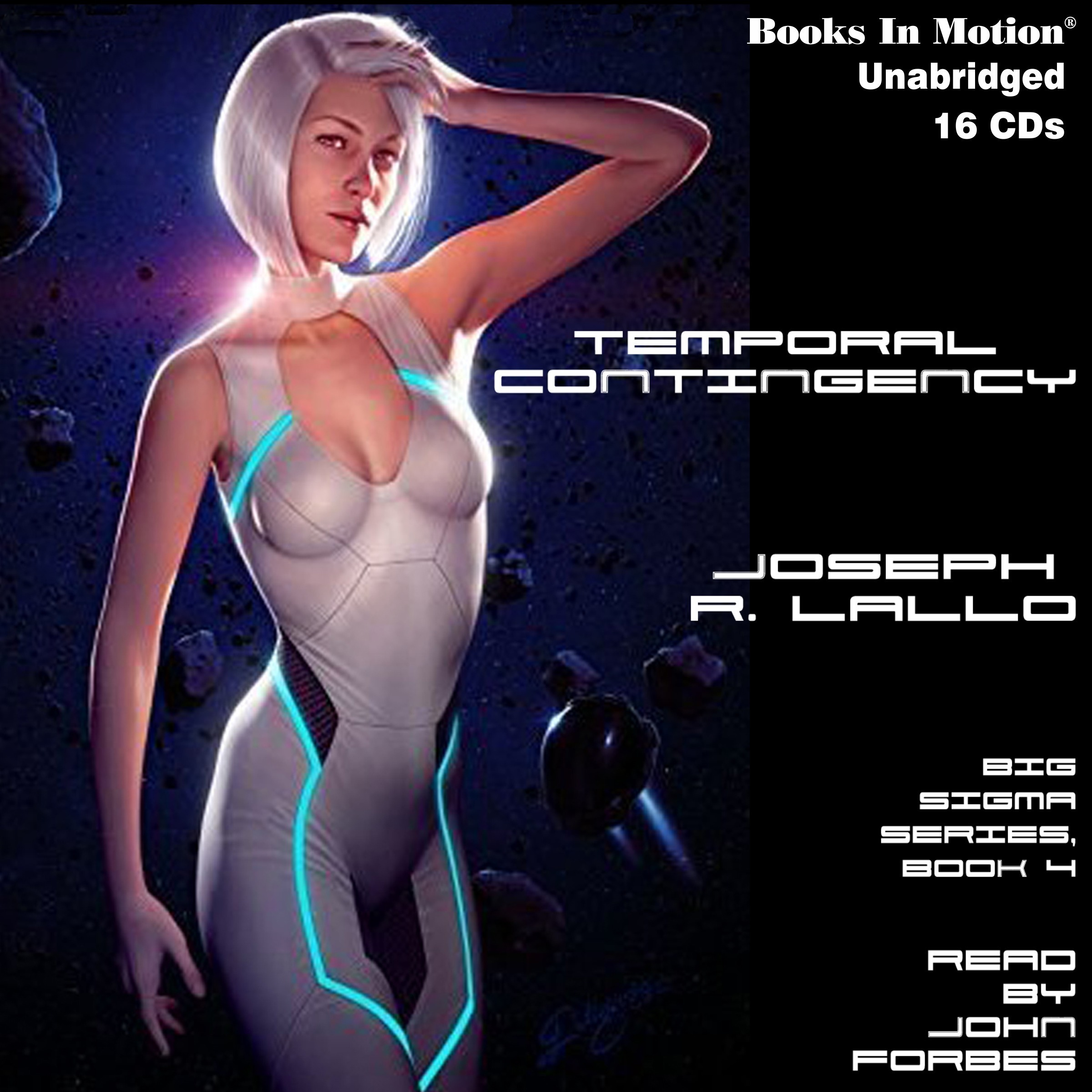 Printable Temporal Contingency: Big Sigma Series, 4 Audiobook Cover Art
