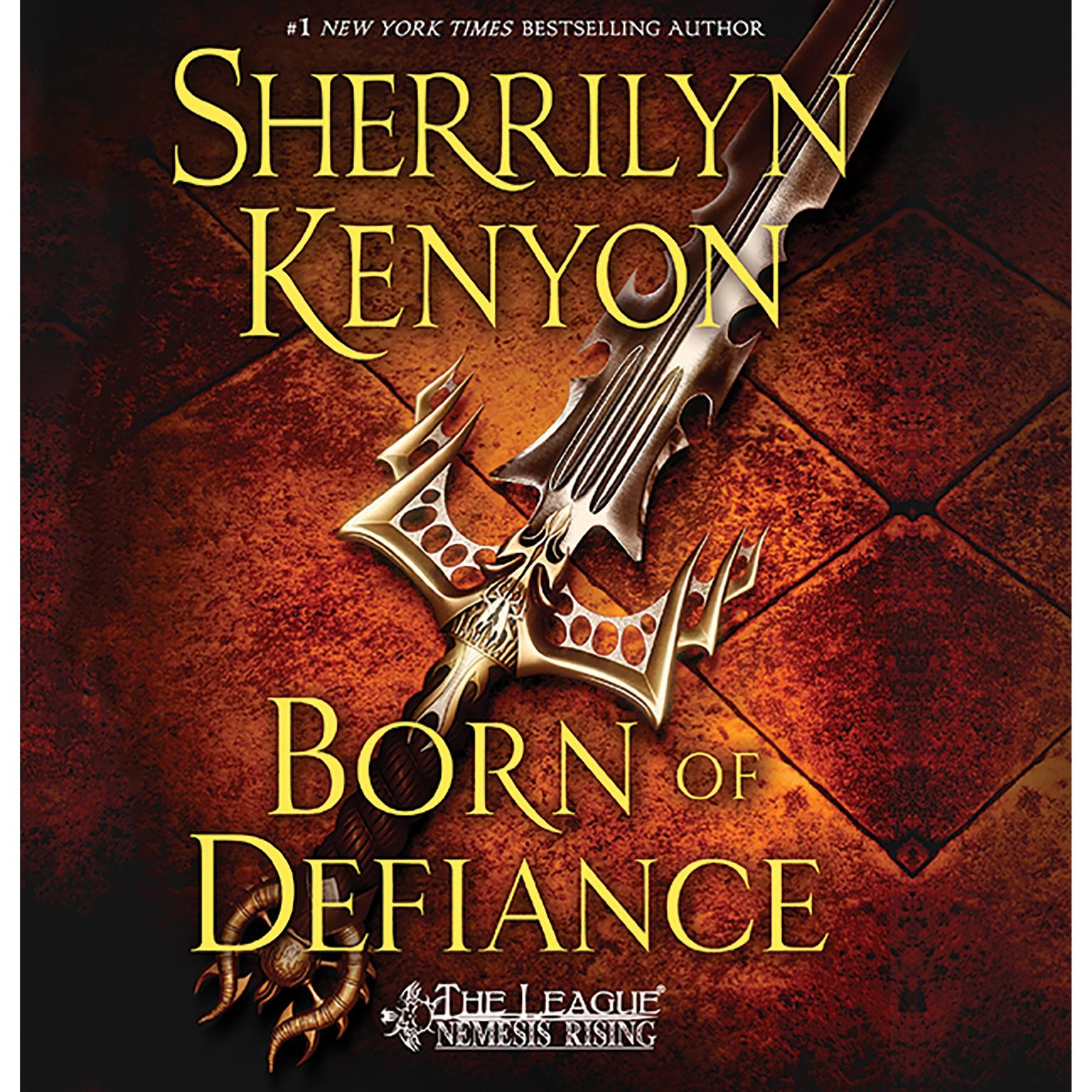 Printable Born of Defiance Audiobook Cover Art
