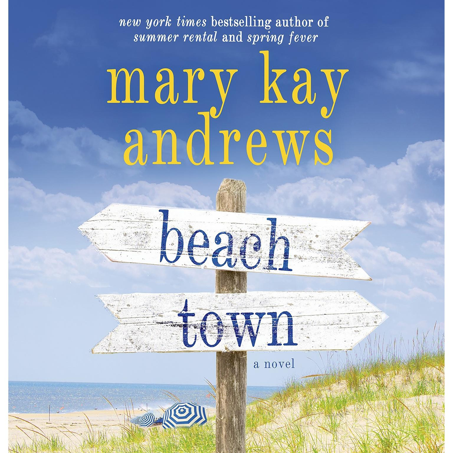 Printable Beach Town: A Novel Audiobook Cover Art