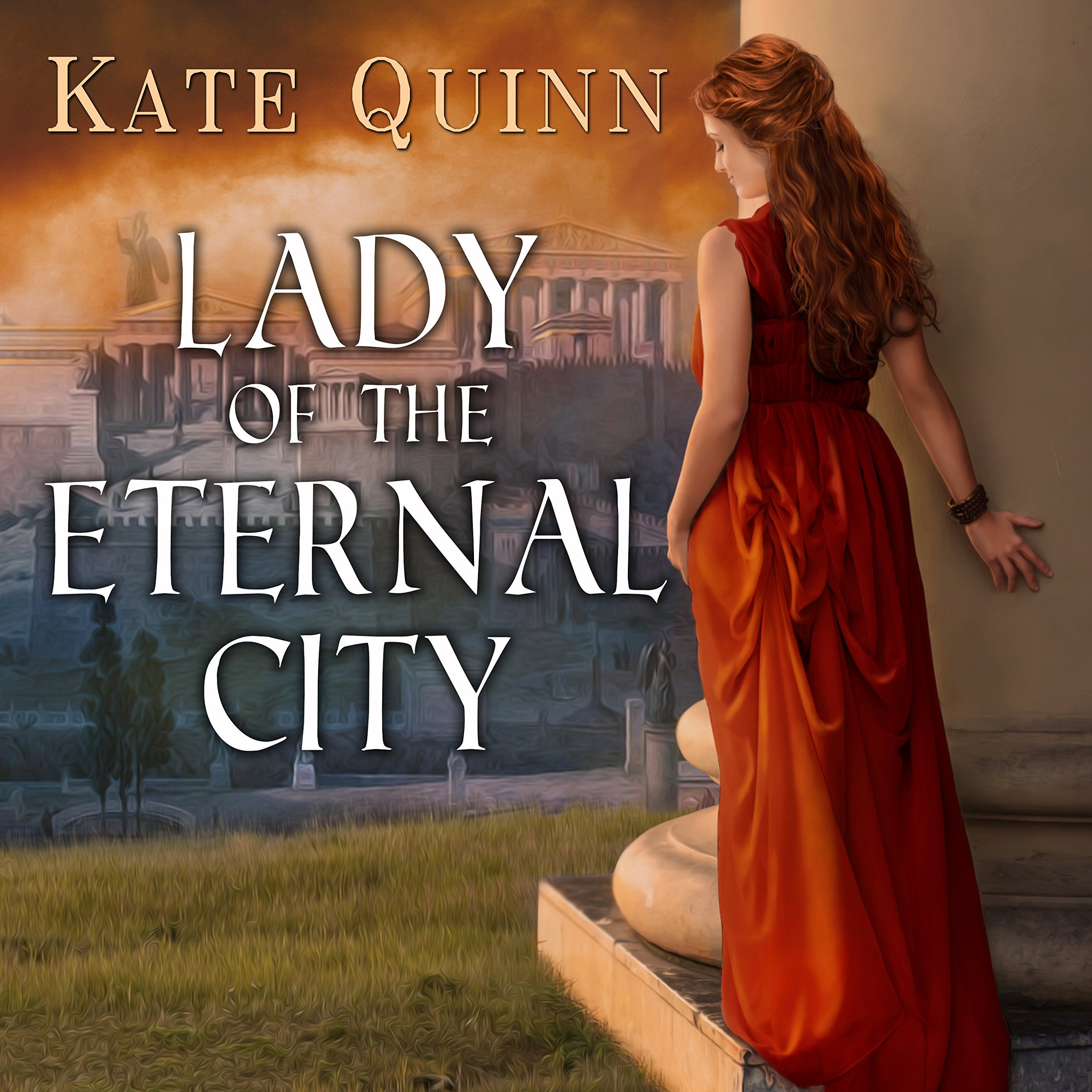 Printable Lady of the Eternal City Audiobook Cover Art