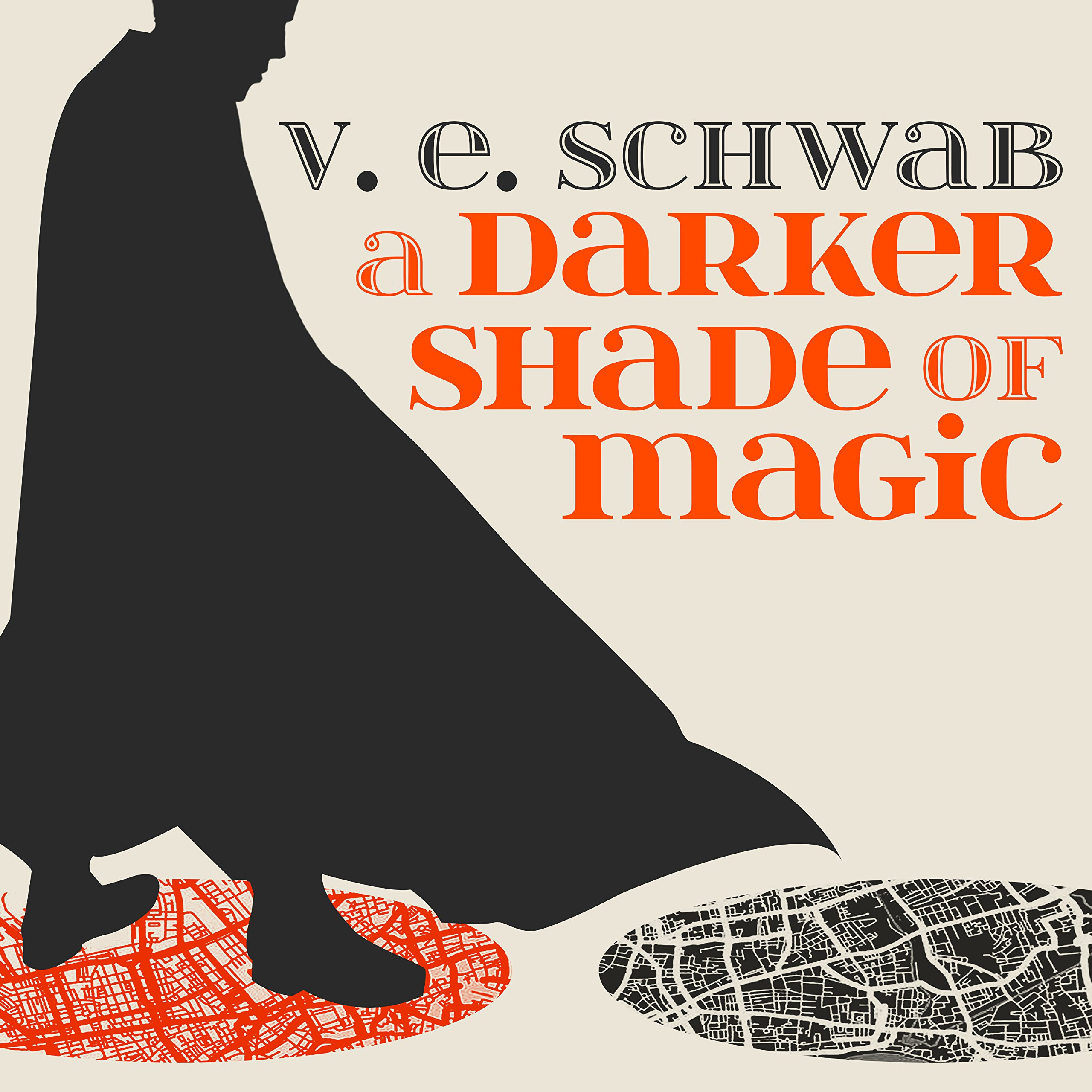 Printable A Darker Shade of Magic Audiobook Cover Art