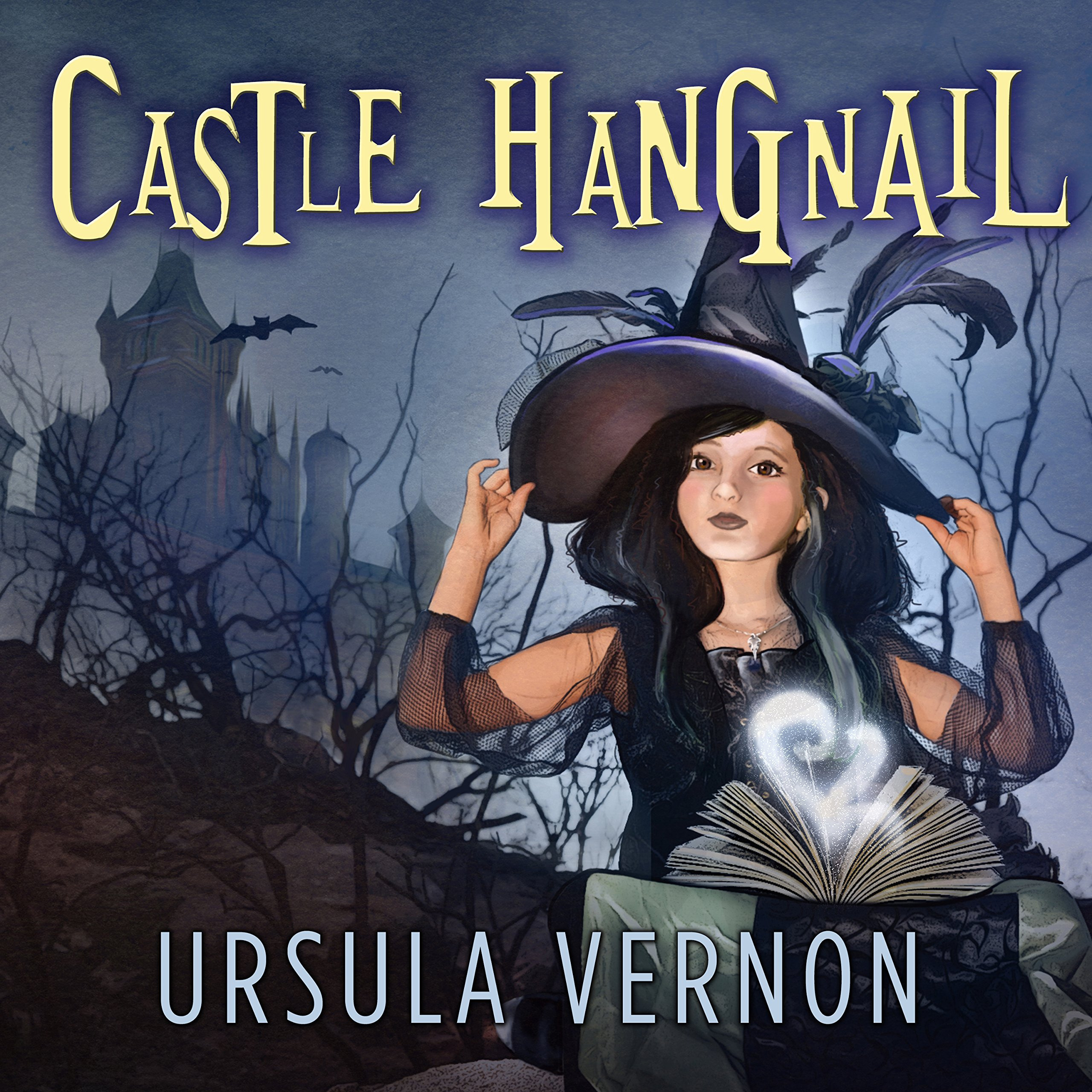 Printable Castle Hangnail Audiobook Cover Art
