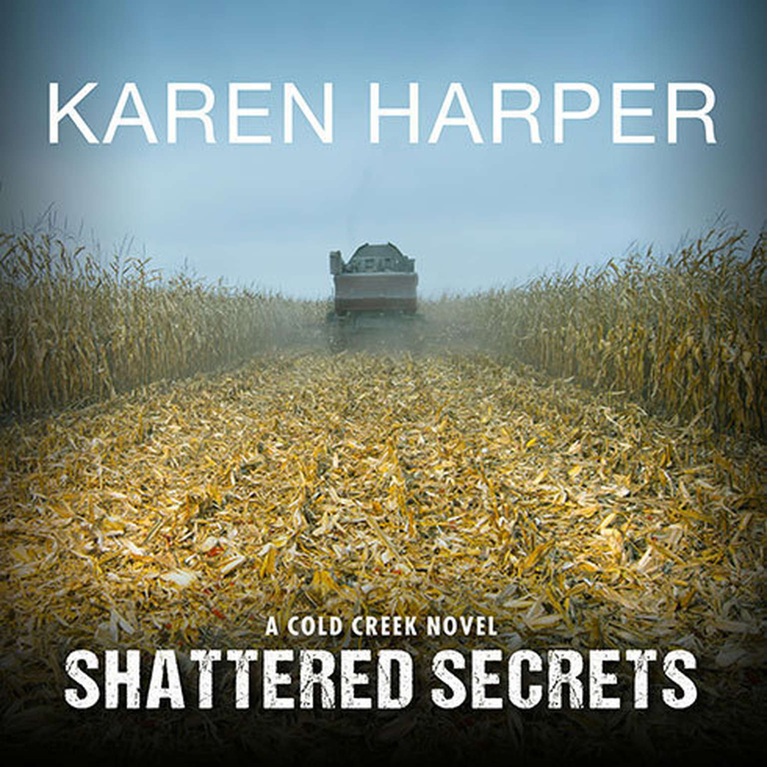Printable Shattered Secrets Audiobook Cover Art