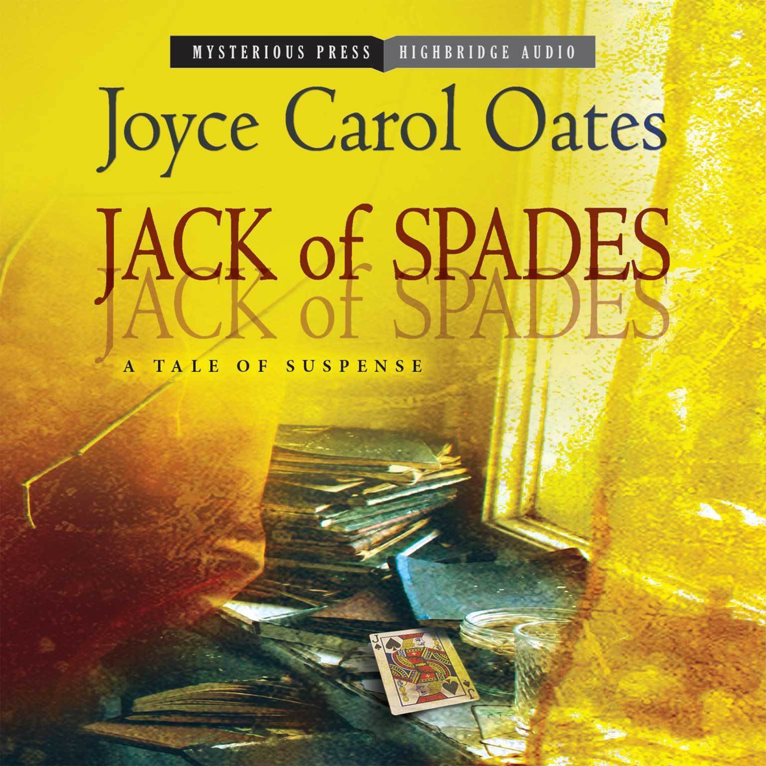 Printable Jack of Spades: A Tale of Suspense Audiobook Cover Art