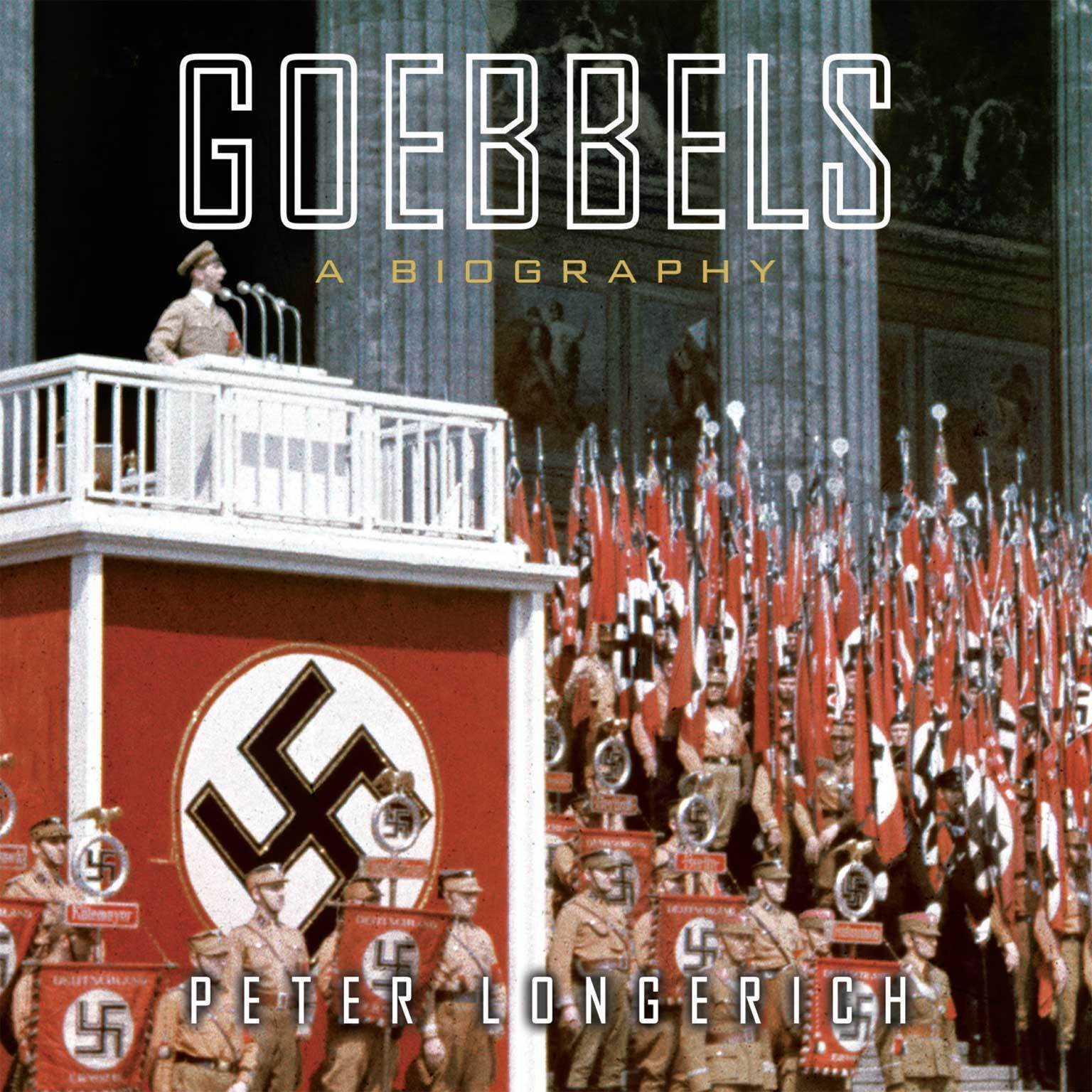 Printable Goebbels: A Biography Audiobook Cover Art