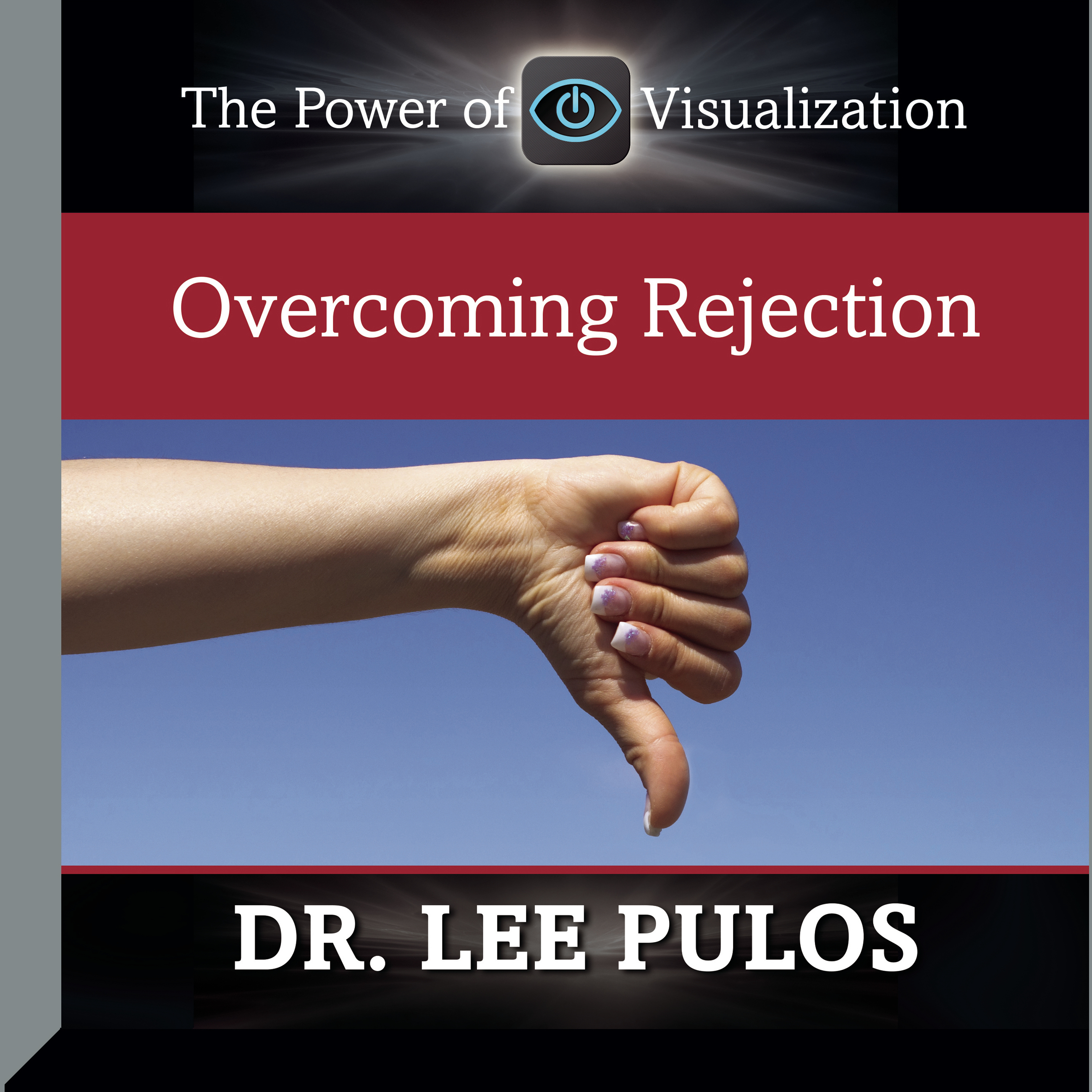Printable Overcoming Rejection Audiobook Cover Art