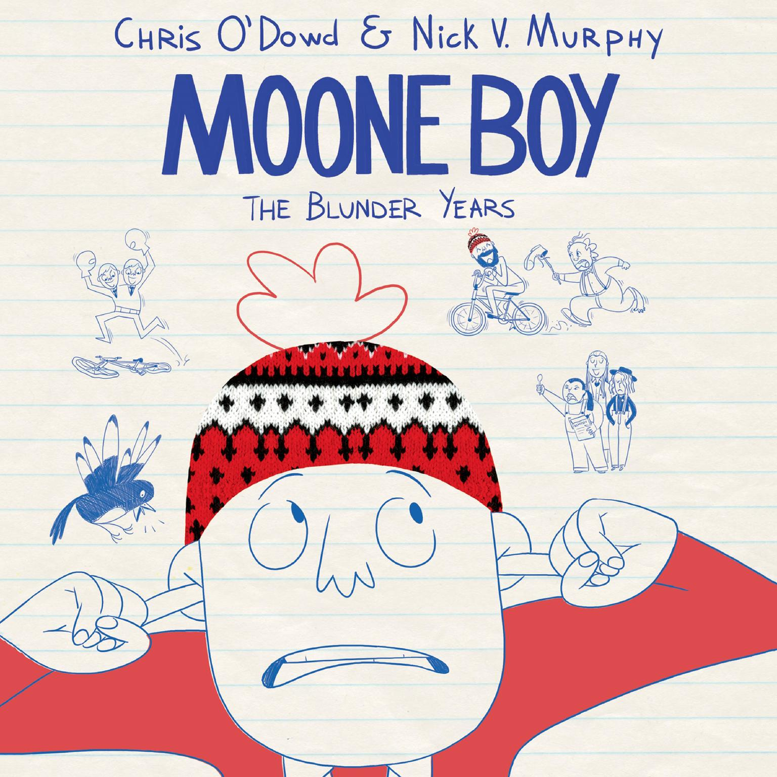 Printable Moone Boy: The Blunder Years Audiobook Cover Art