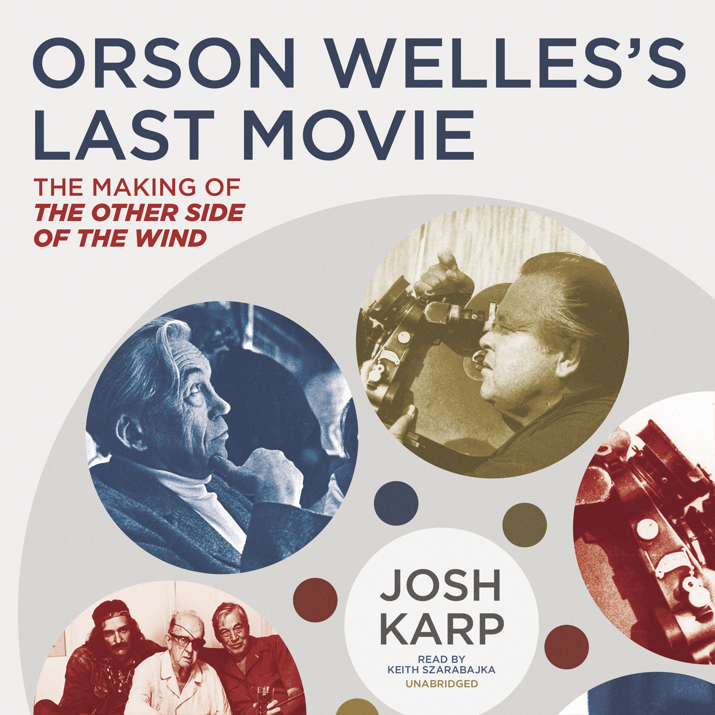 Printable Orson Welles's Last Movie: The Making of The Other Side of the Wind Audiobook Cover Art
