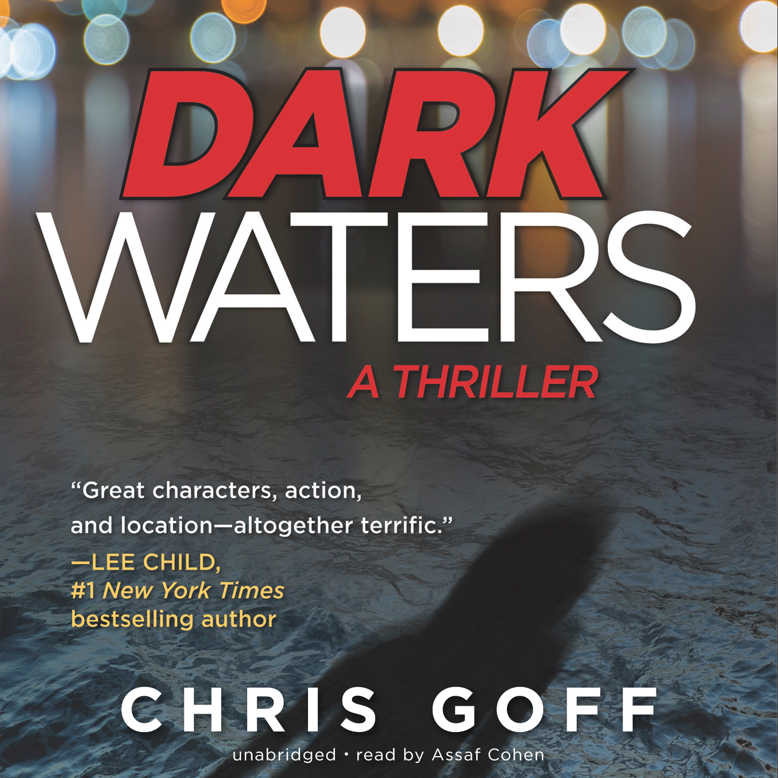 Printable Dark Waters: A Thriller Audiobook Cover Art