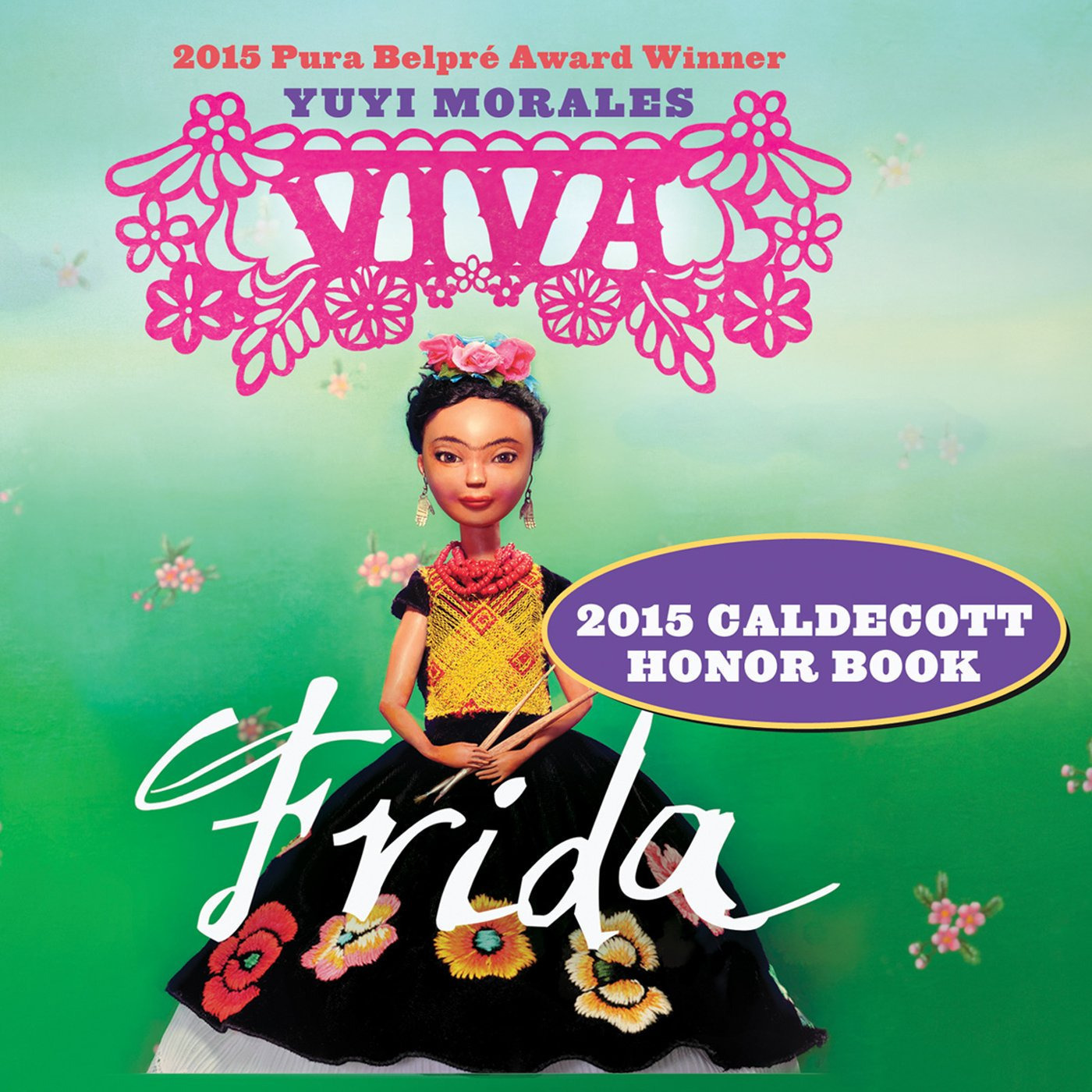 Printable Viva Frida Audiobook Cover Art
