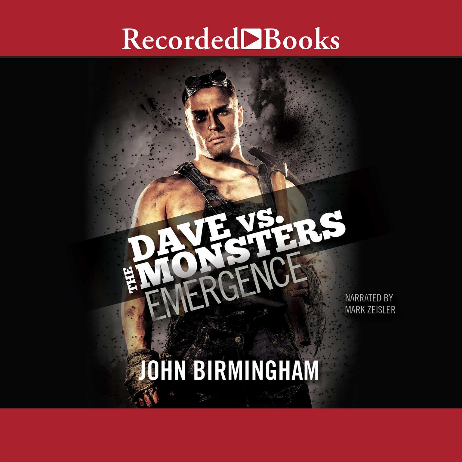 Printable Emergence: Dave vs. the Monsters Audiobook Cover Art