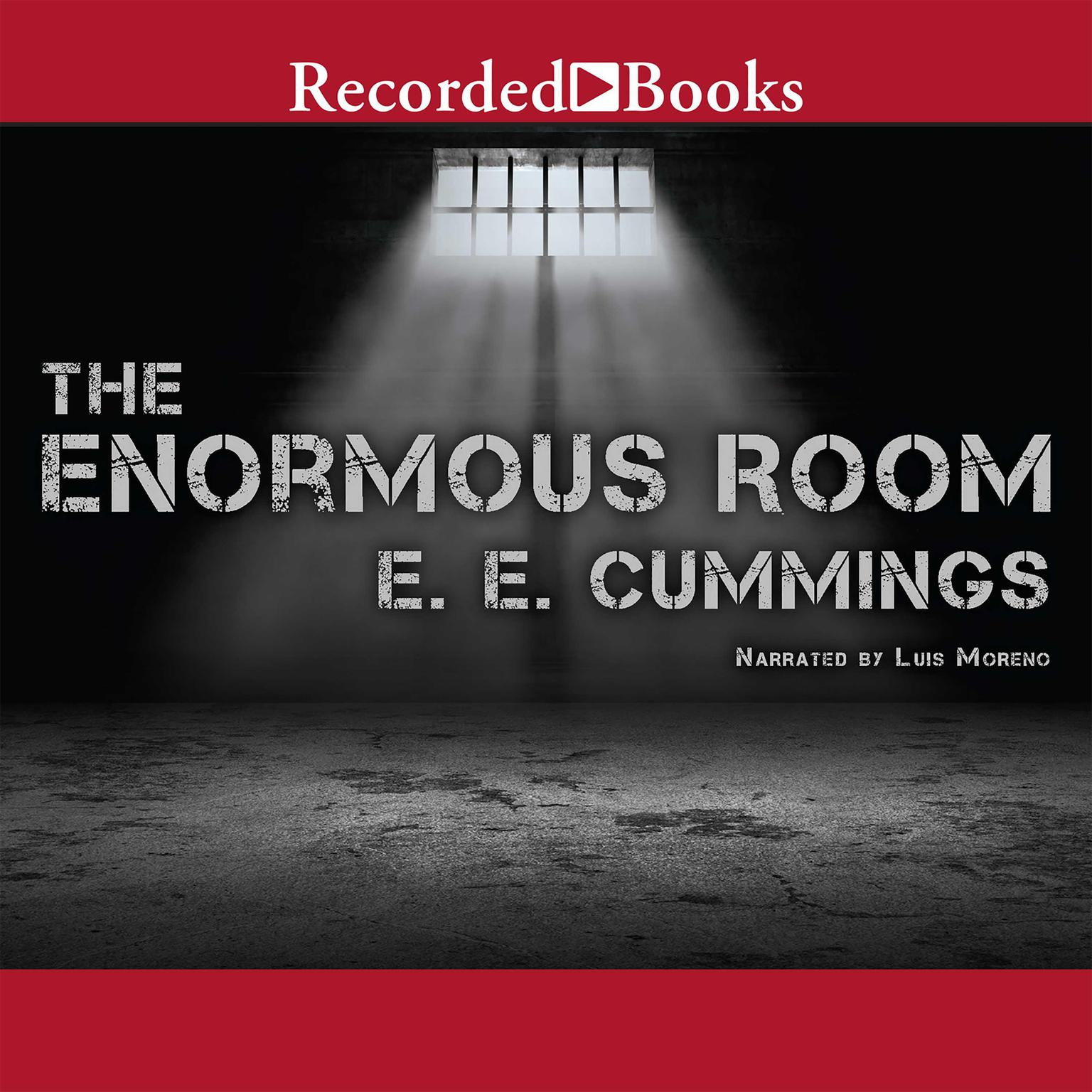 Printable The Enormous Room Audiobook Cover Art
