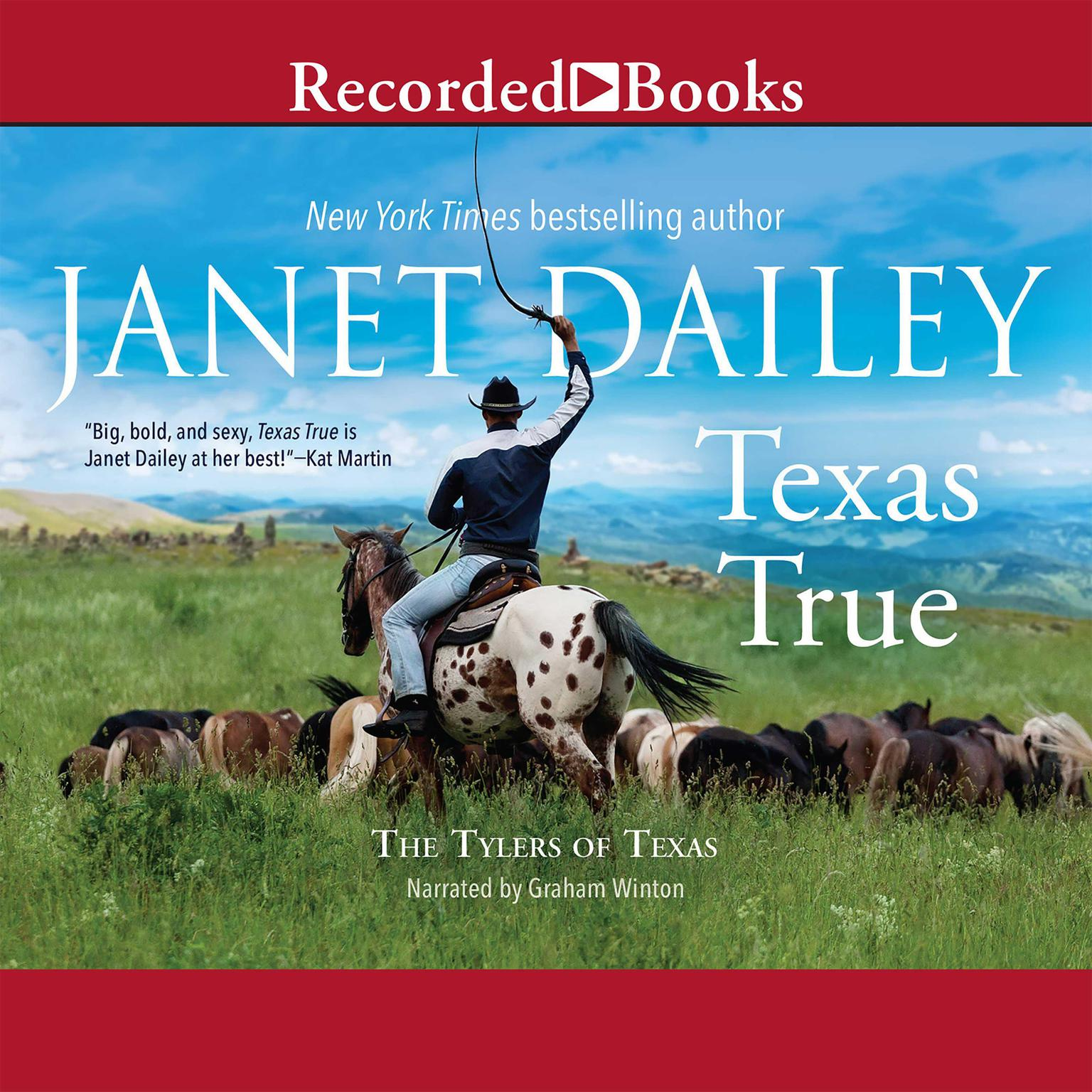 Printable Texas True Audiobook Cover Art